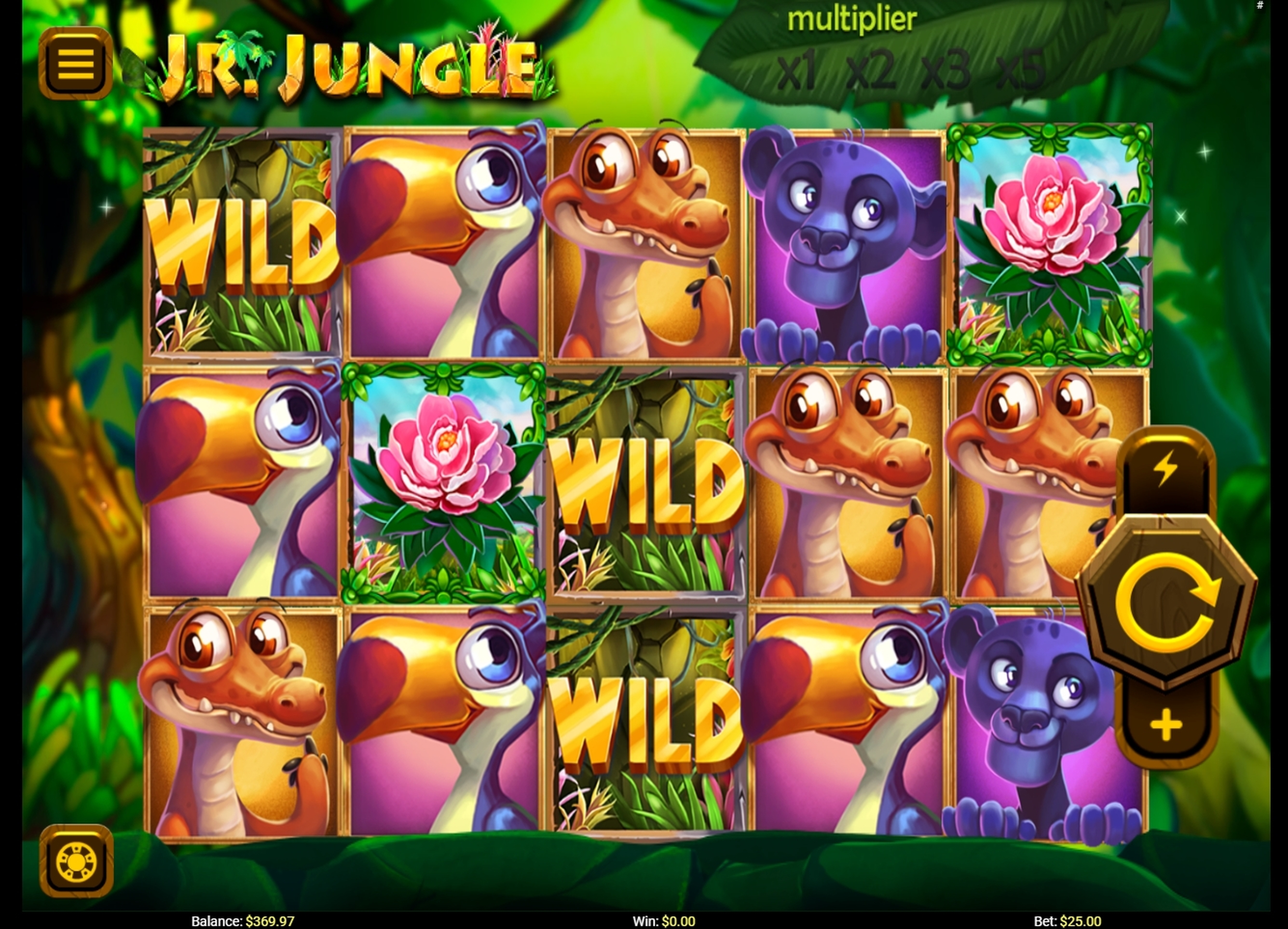 Reels in Jr. Jungle Slot Game by Others