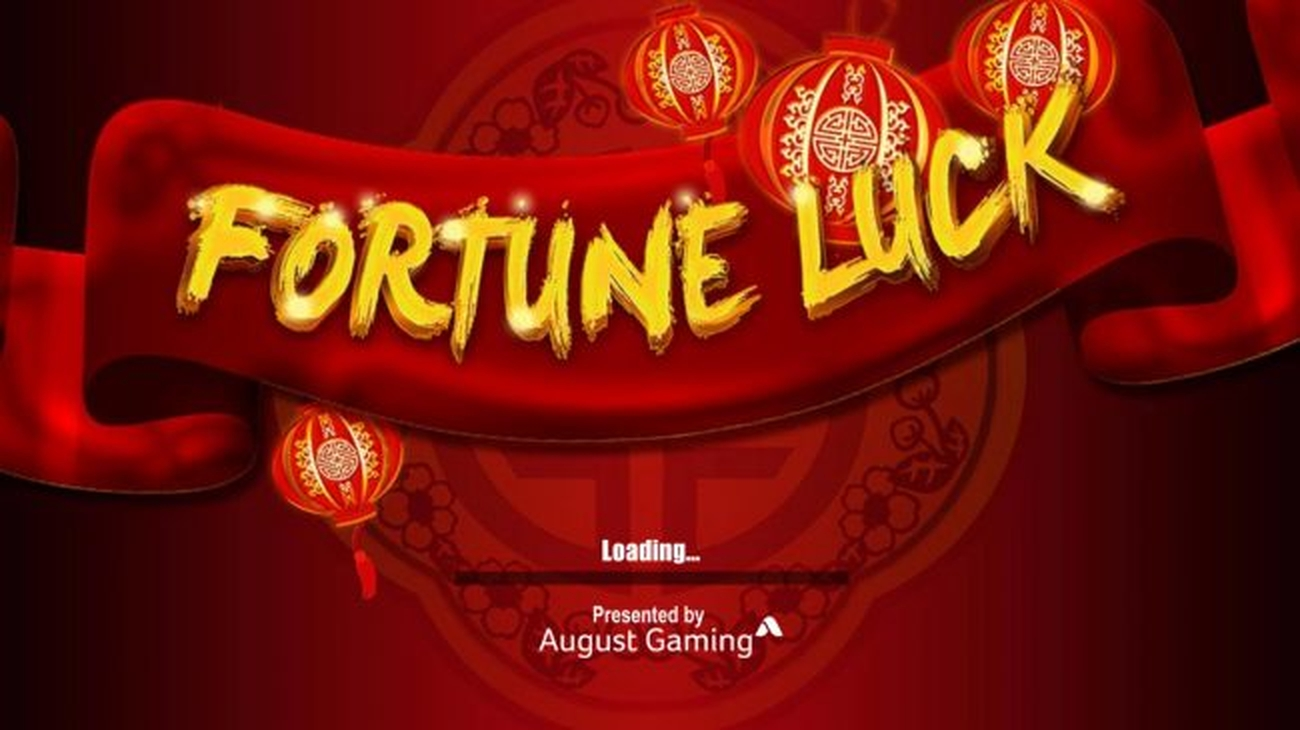 The Fortune Luck Online Slot Demo Game by August Gaming