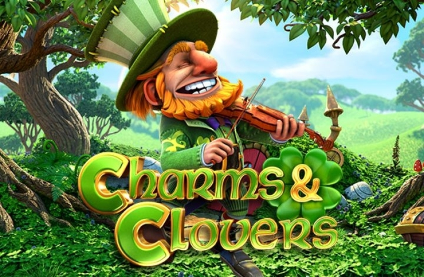 The Charms and Clovers Online Slot Demo Game by Betsoft