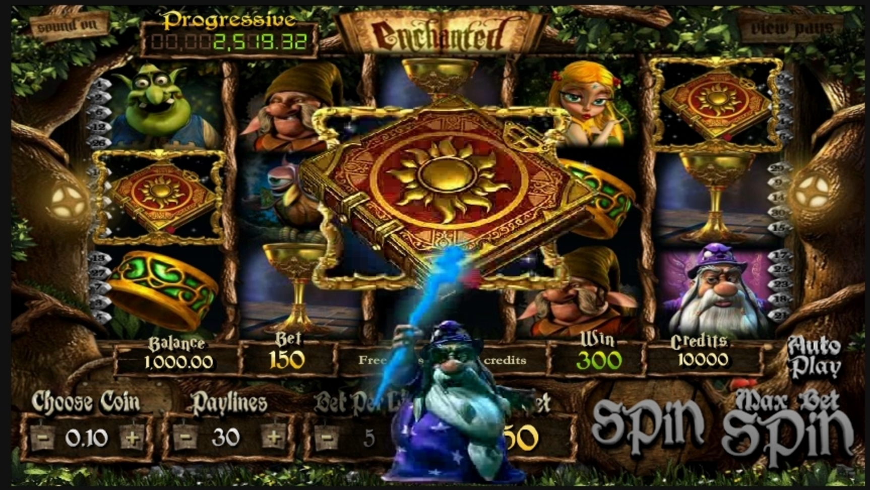 Win Money in Enchanted (Betsoft) Free Slot Game by Betsoft