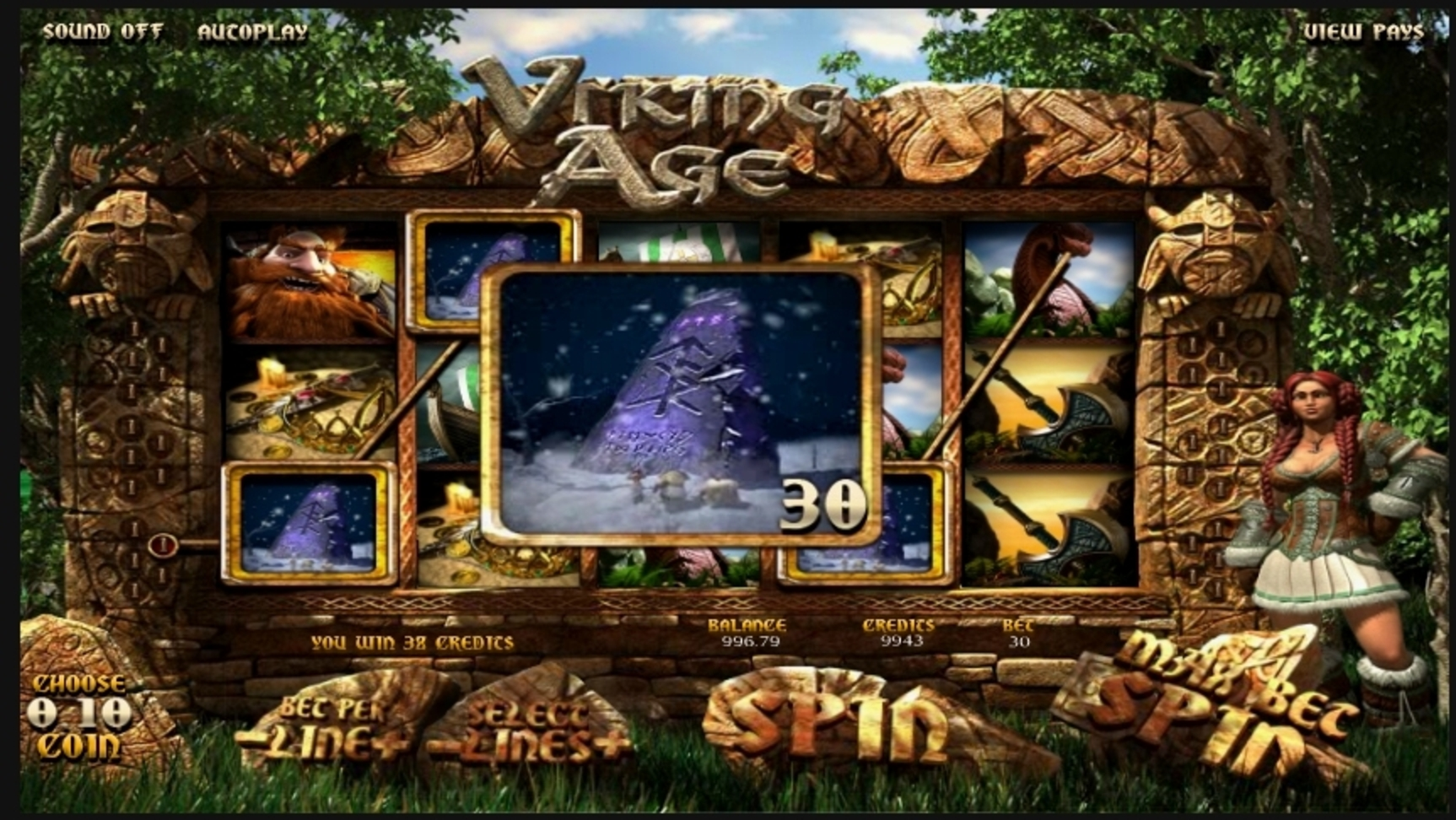 Win Money in Viking Age Free Slot Game by Betsoft