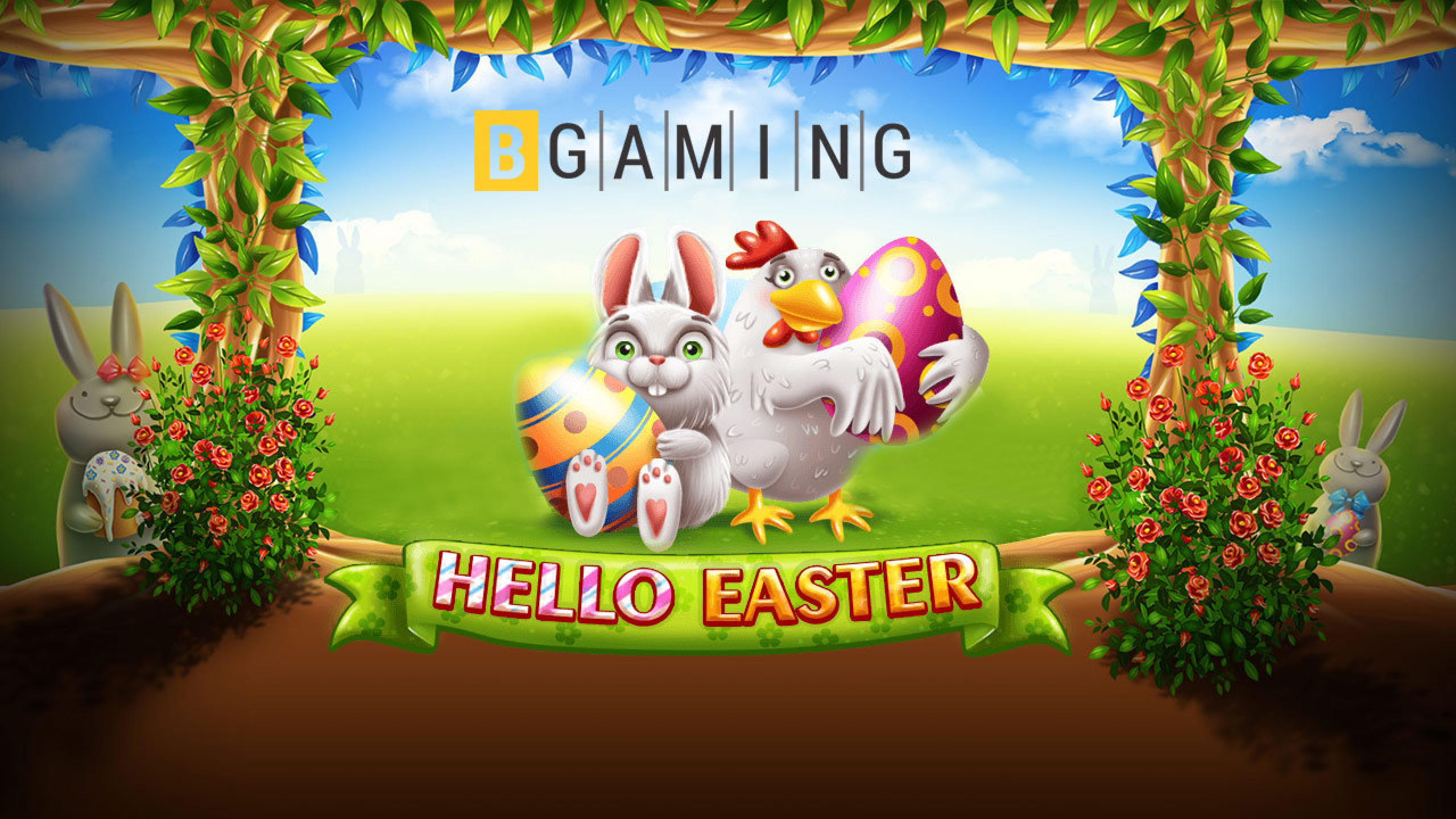 The Hello Easter Online Slot Demo Game by BGAMING