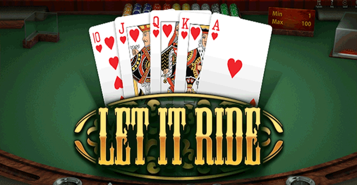 The Let it Ride (BGaming) Online Slot Demo Game by BGAMING