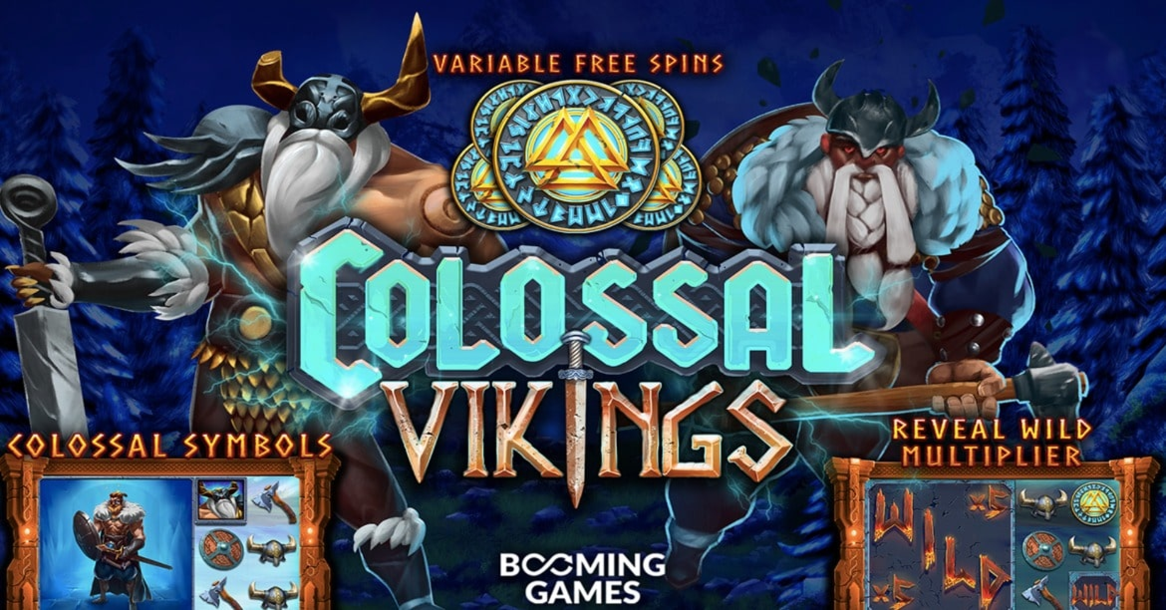 The Colossal Vikings Online Slot Demo Game by Booming Games