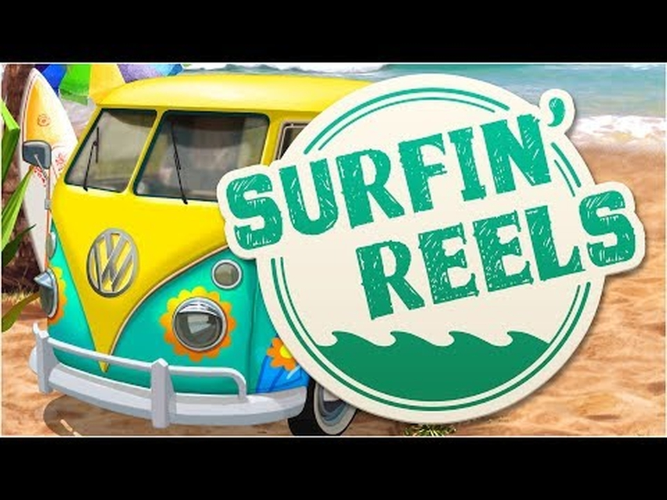 Reels in Surfin' Reels Slot Game by Booming Games