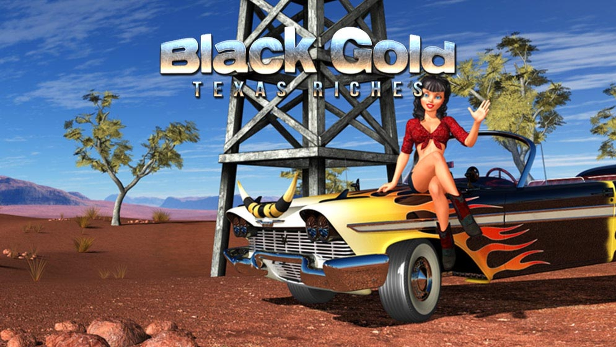 The Black Gold Texas Riches Online Slot Demo Game by Capecod Gaming