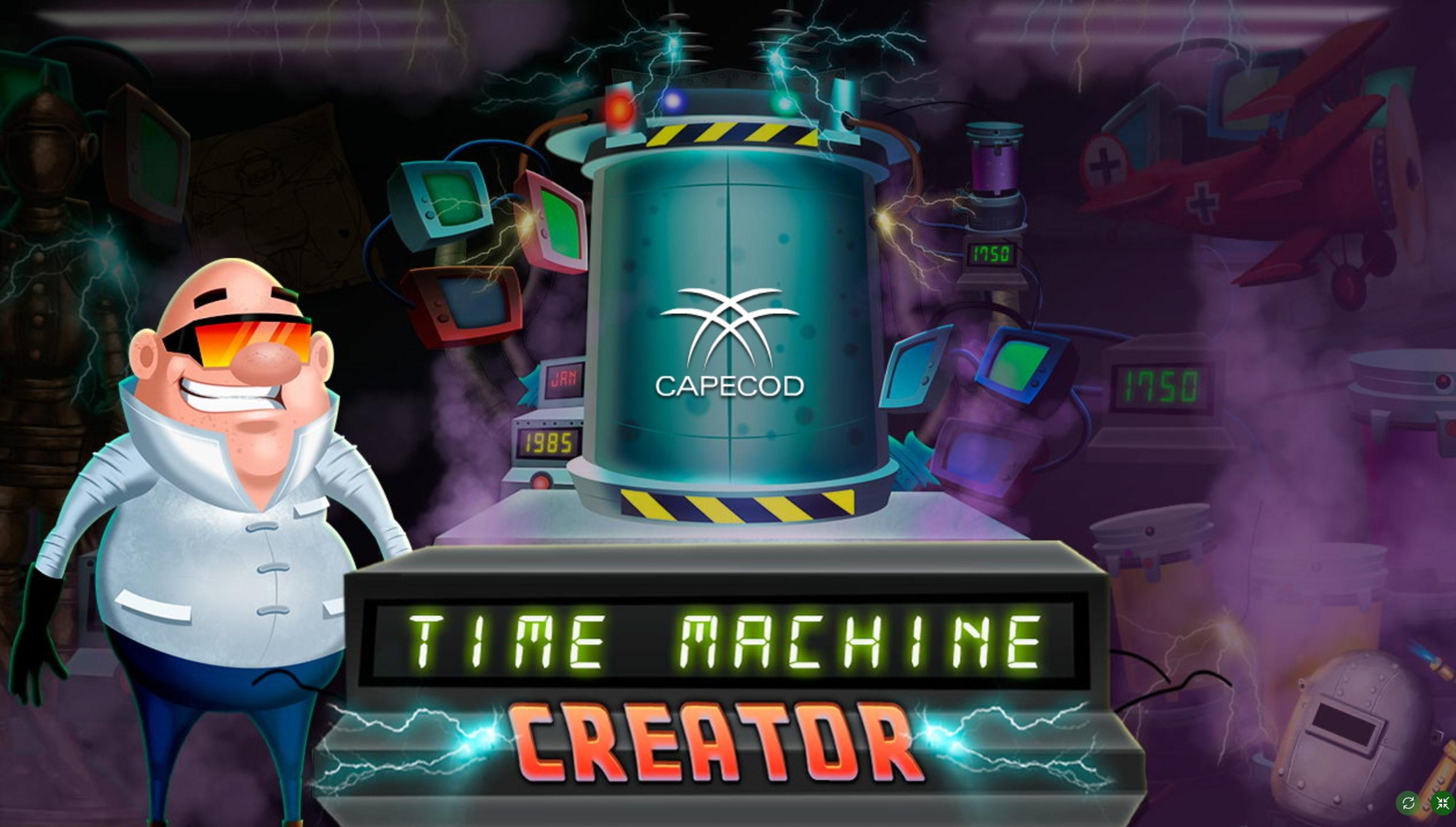 Play Time Machine Creator Free Casino Slot Game by Capecod Gaming