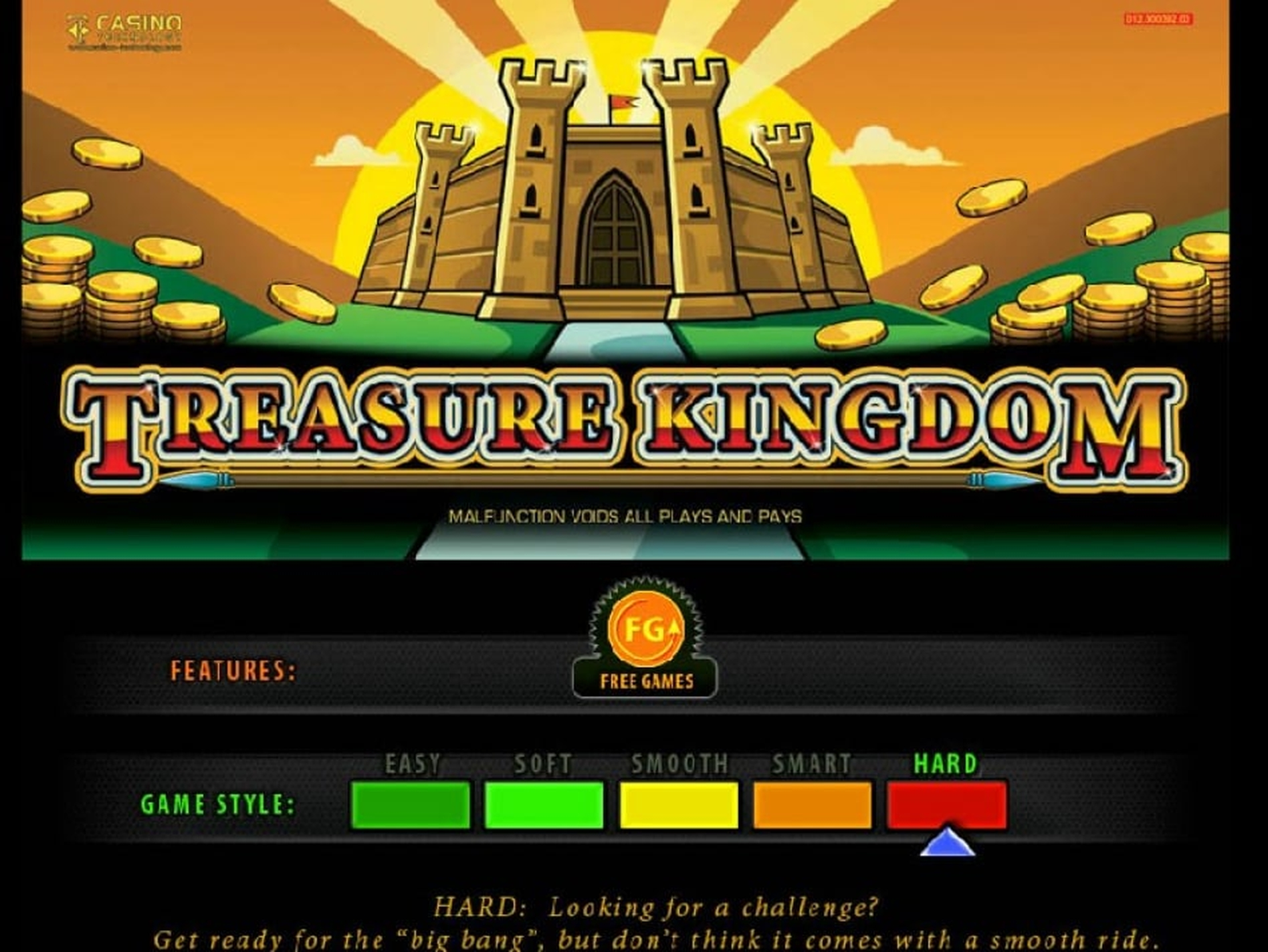 The Treasure Kingdom Online Slot Demo Game by casino technology