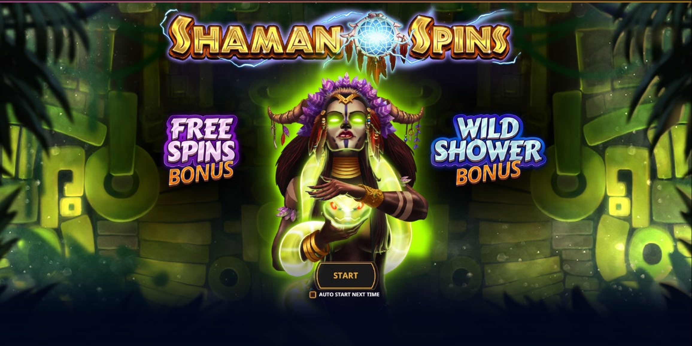 The Shaman Spins Online Slot Demo Game by Cayetano Gaming