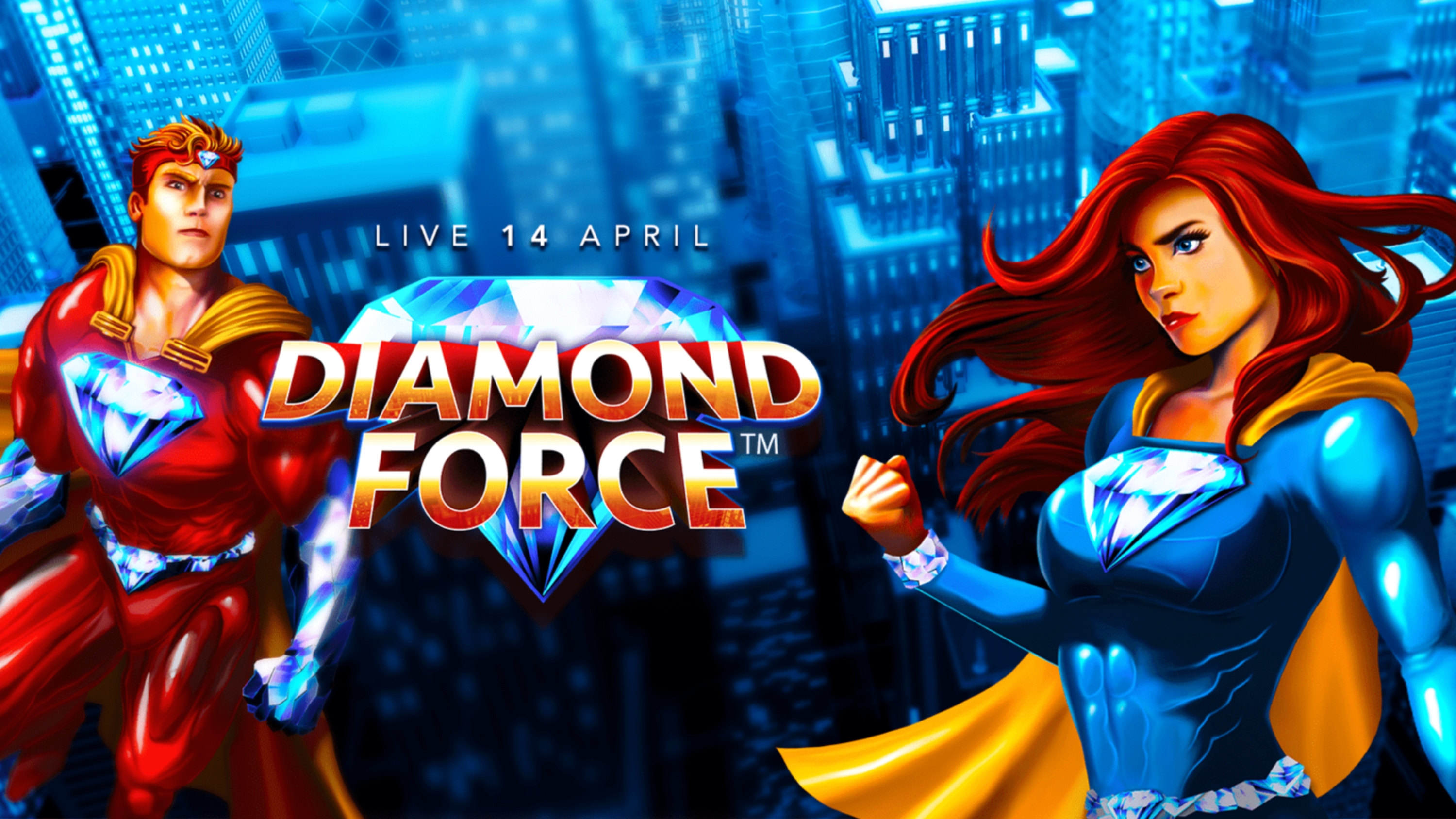 The Diamond Force Online Slot Demo Game by Crazy Tooth Studio