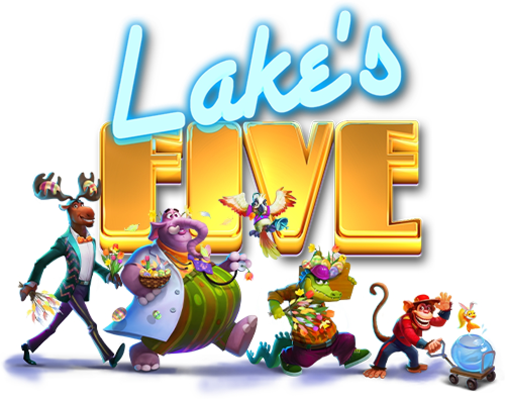 The Lake's Five Easter Online Slot Demo Game by ELK Studios