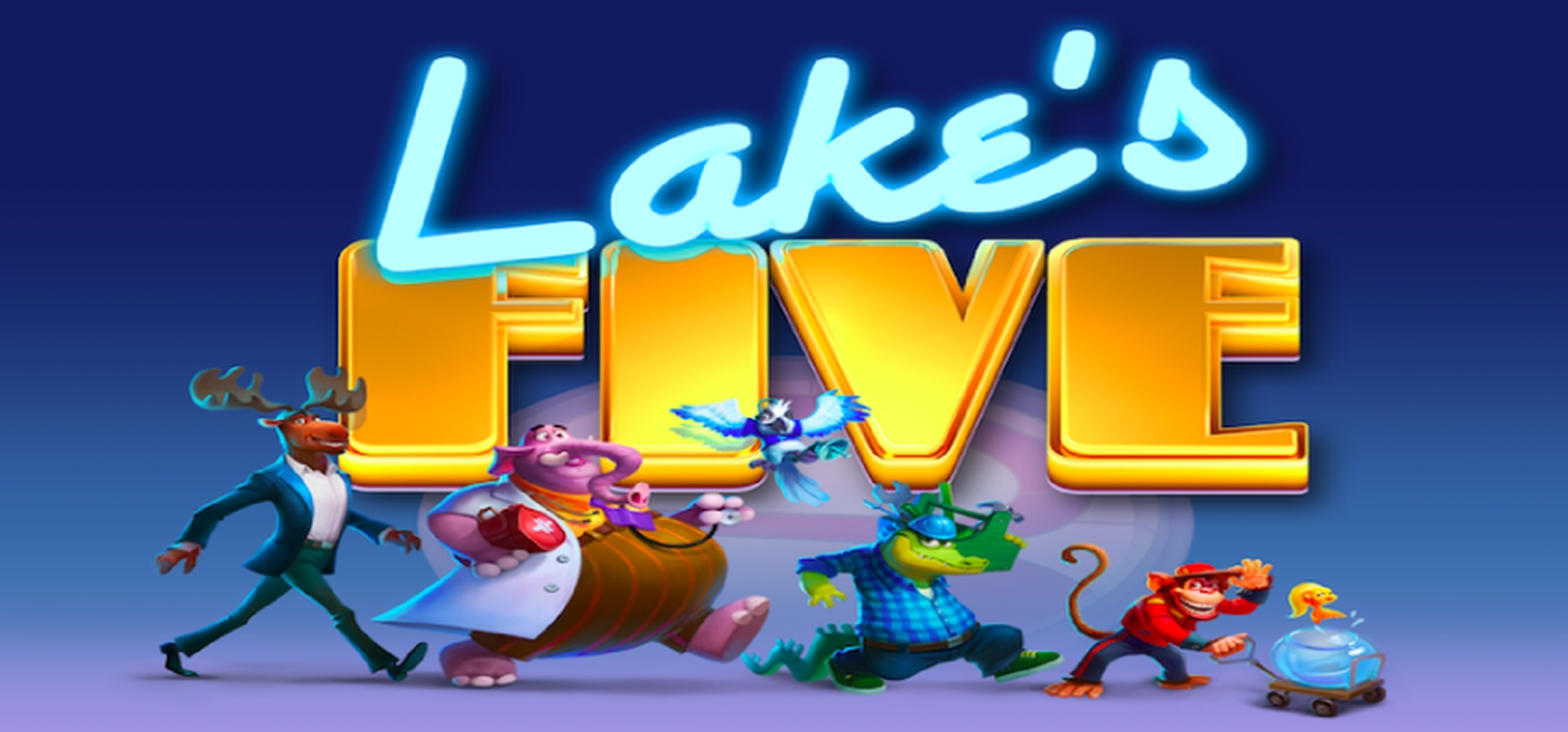 The Lake's Five Online Slot Demo Game by ELK Studios
