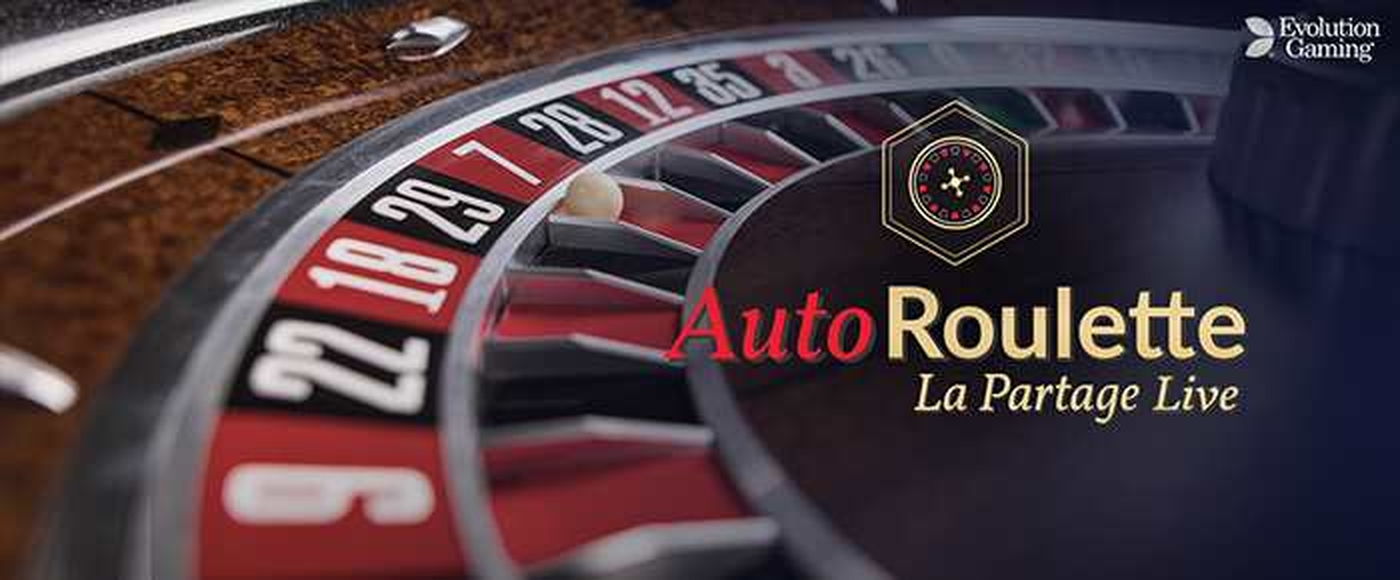 The Auto Roulette La Partage (Evolution Gaming) Online Slot Demo Game by Evolution Gaming