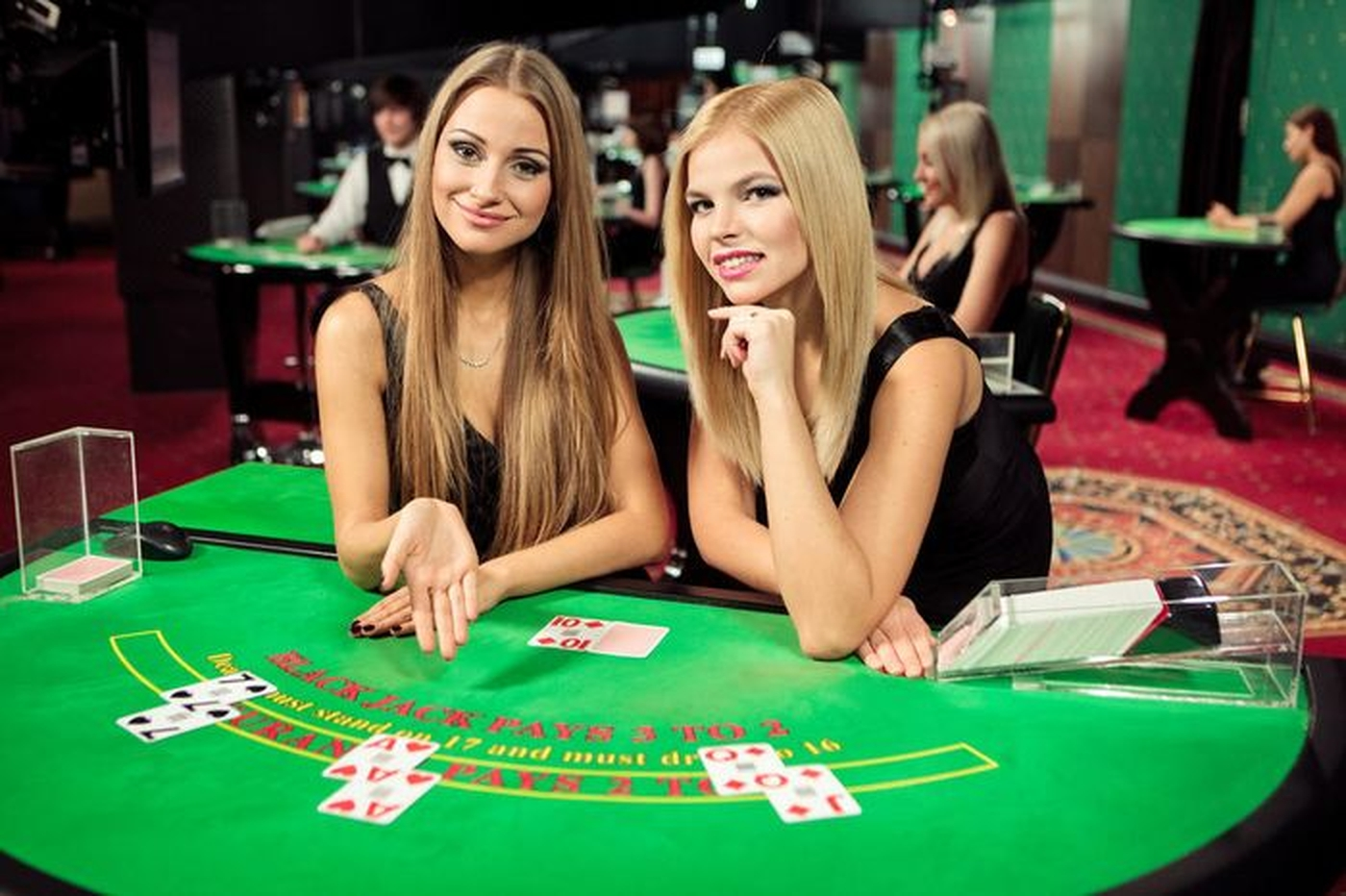 The Blackjack Live Casino (Evolution Gaming) Online Slot Demo Game by Evolution Gaming