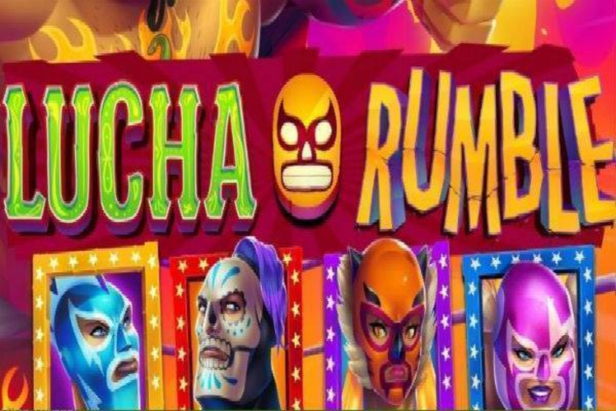 The Lucha Rumble Jackpot Online Slot Demo Game by EYECON