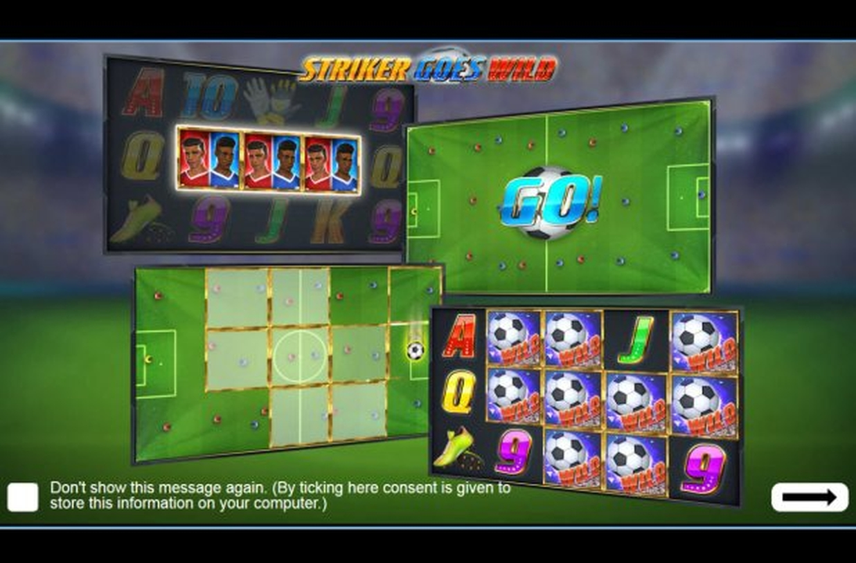 The Striker Goes Wild Online Slot Demo Game by EYECON