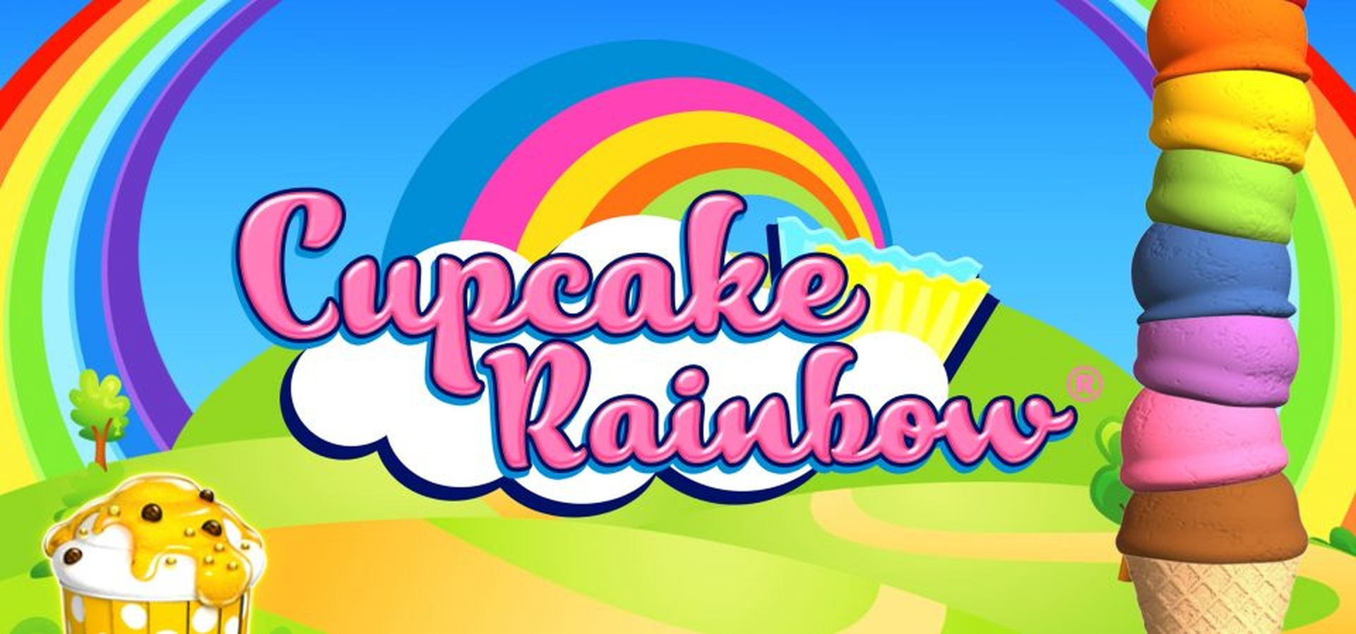 The Cupcake Rainbow Online Slot Demo Game by GAMING1