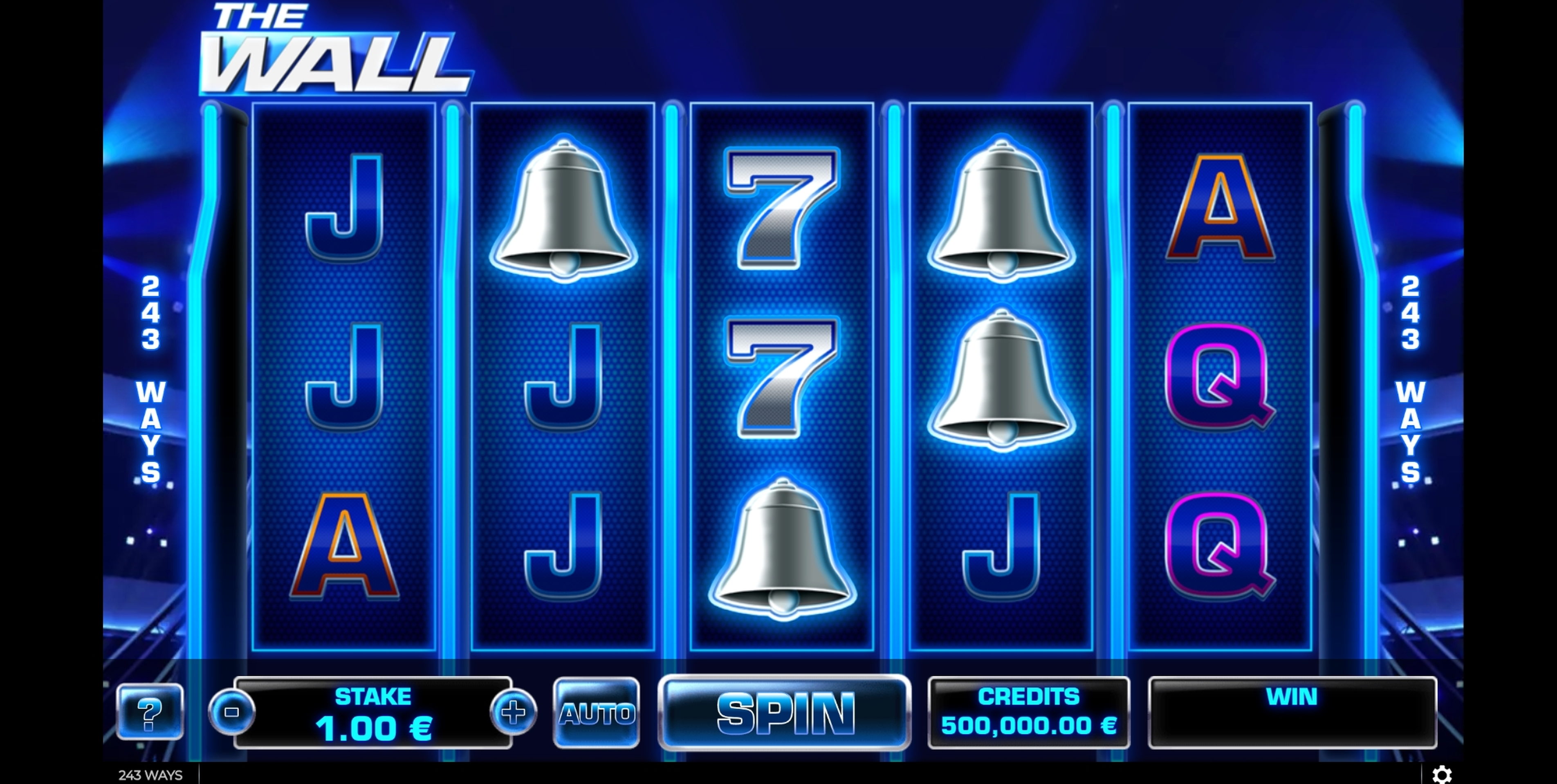 Reels in The Wall Slot Game by GAMING1