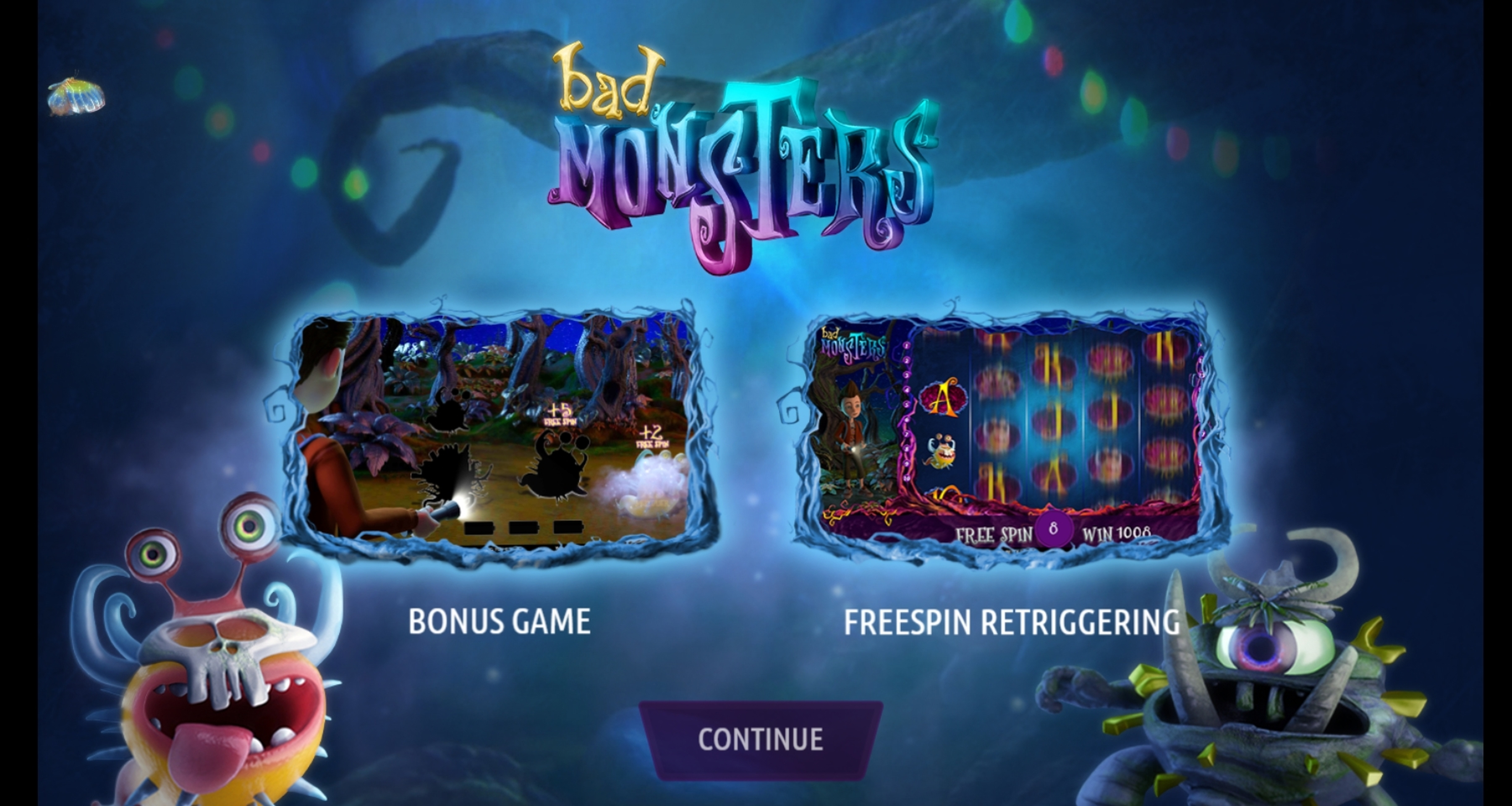 Play Bad Monsters Free Casino Slot Game by Gamshy