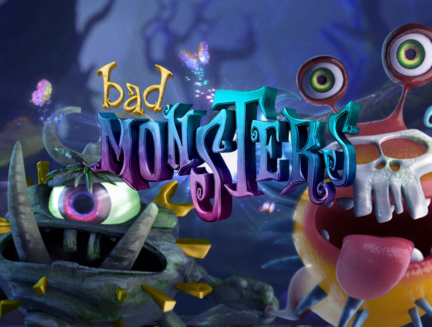 The Bad Monsters Online Slot Demo Game by Gamshy