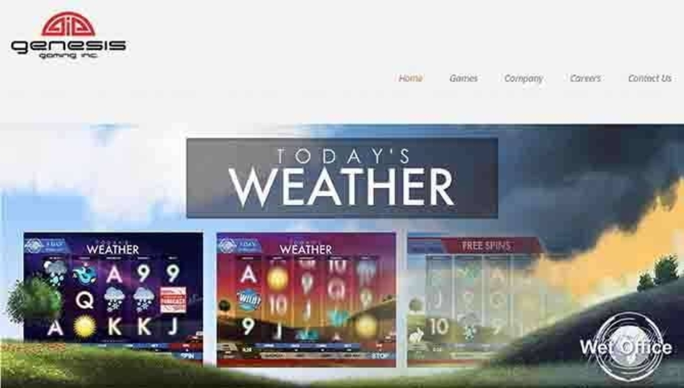 The Today's Weather Online Slot Demo Game by Genesis