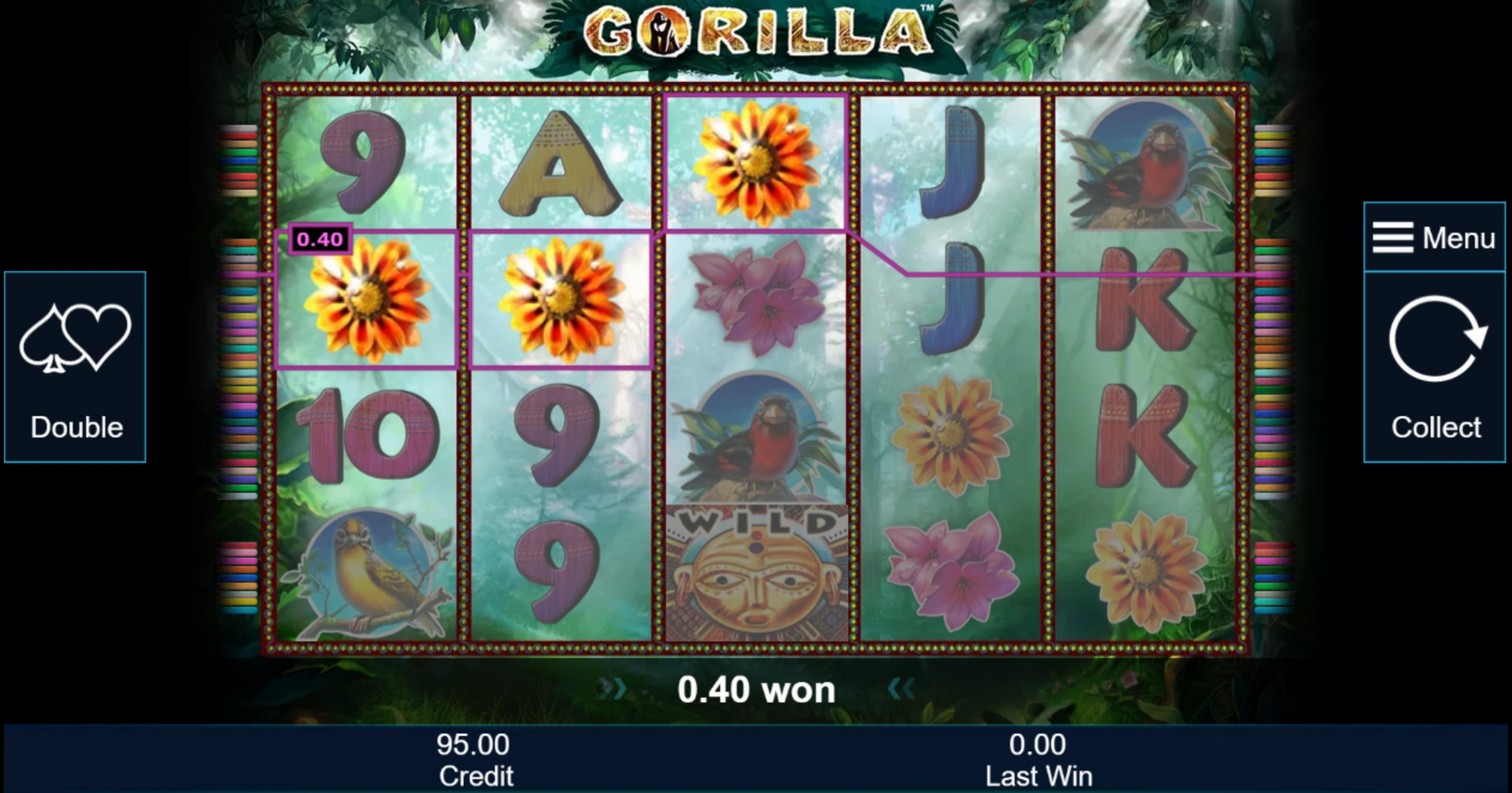 Win Money in Gorilla Free Slot Game by Greentube