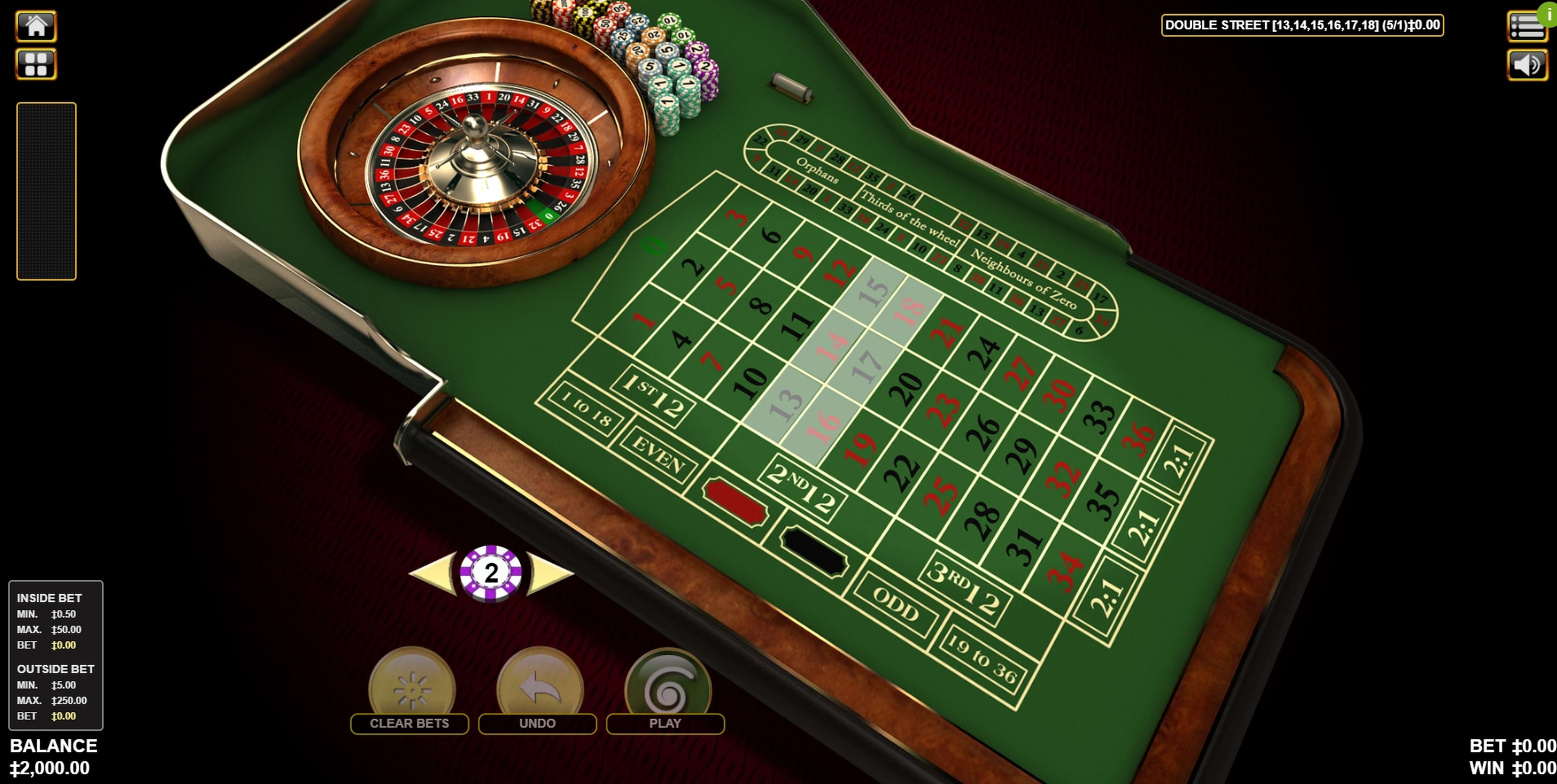 Reels in Roulette (Habanero) Slot Game by Habanero