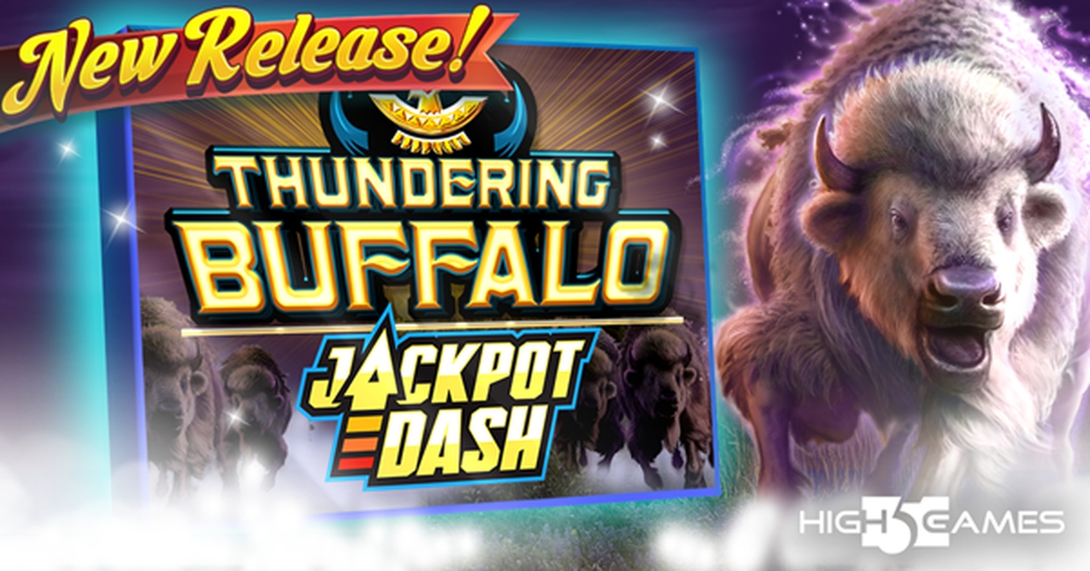 The Thundering Buffalo Online Slot Demo Game by High 5 Games