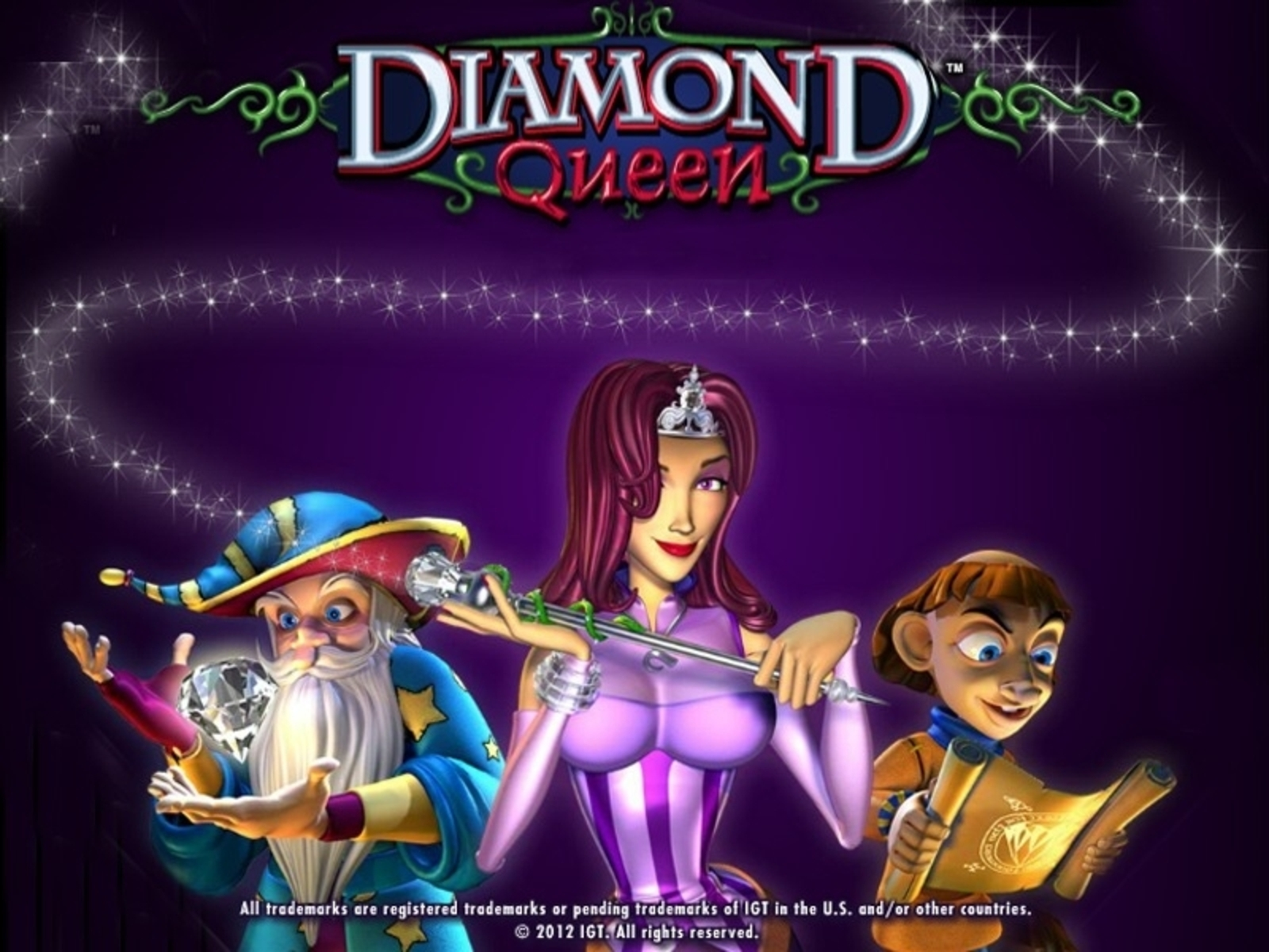 The Diamond Queen Online Slot Demo Game by IGT