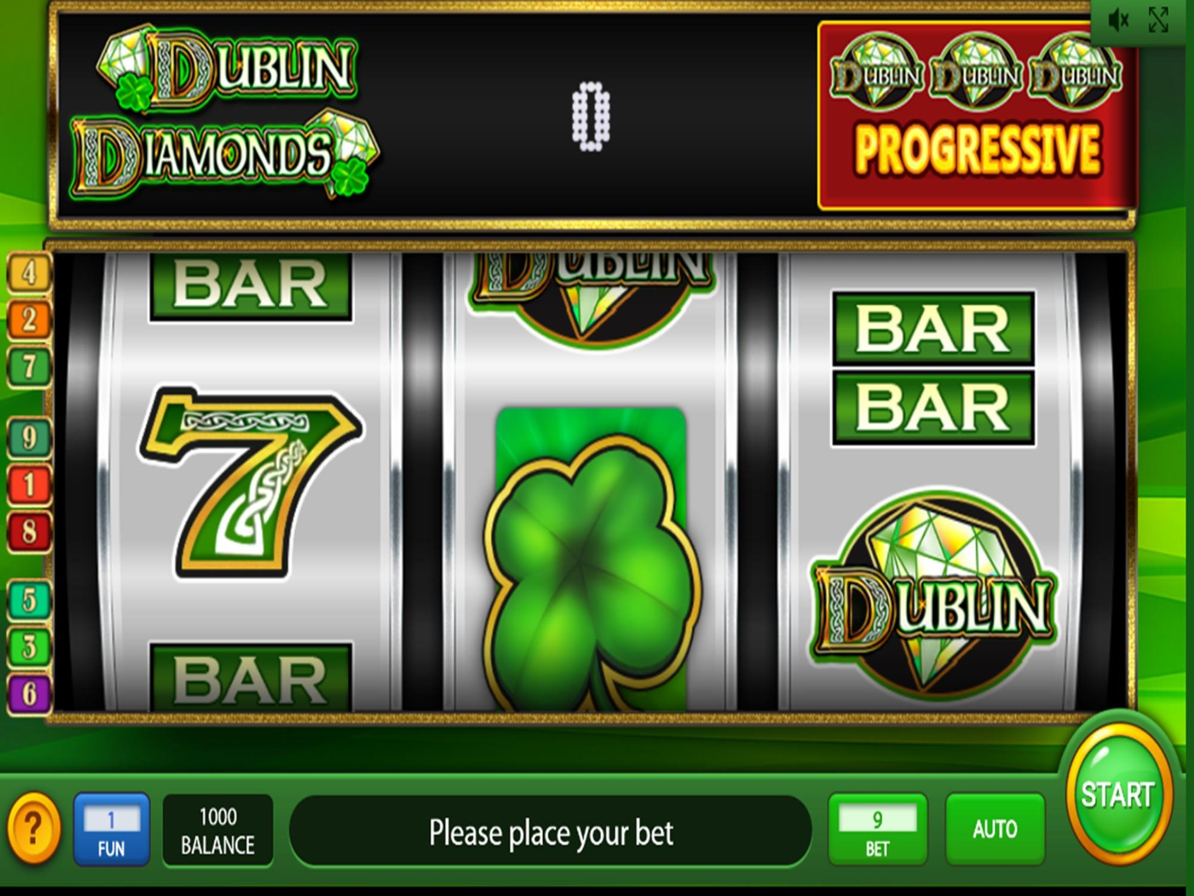 The Dublin Diamonds Online Slot Demo Game by IGT