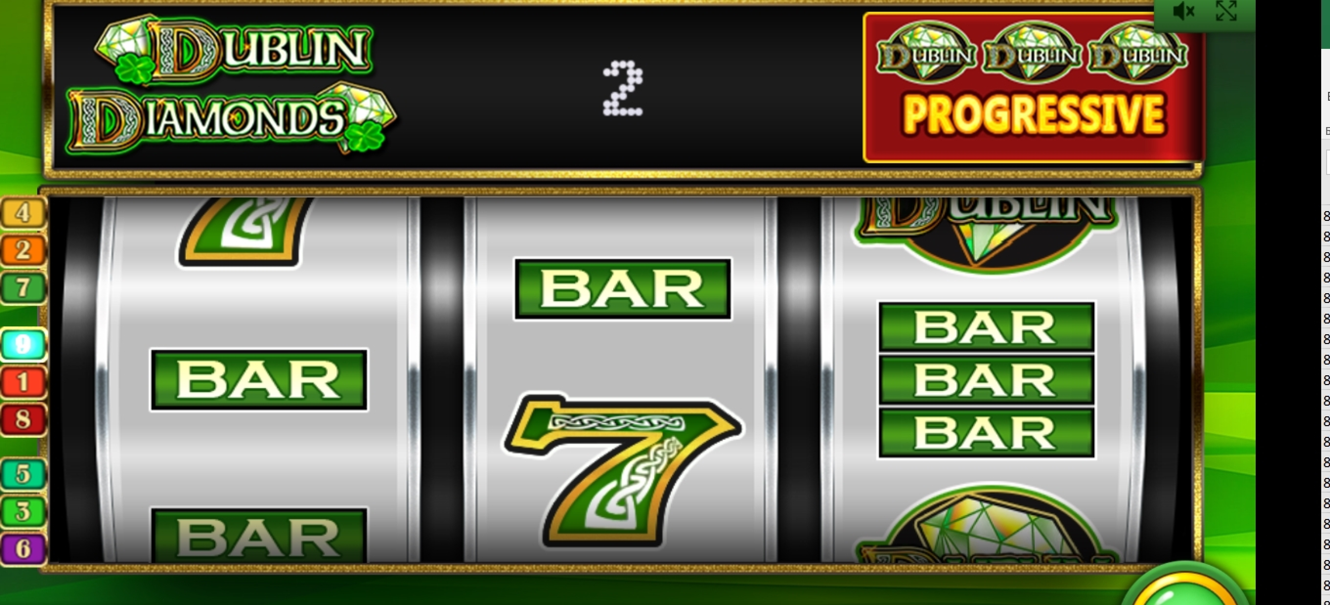 Win Money in Dublin Diamonds Free Slot Game by IGT