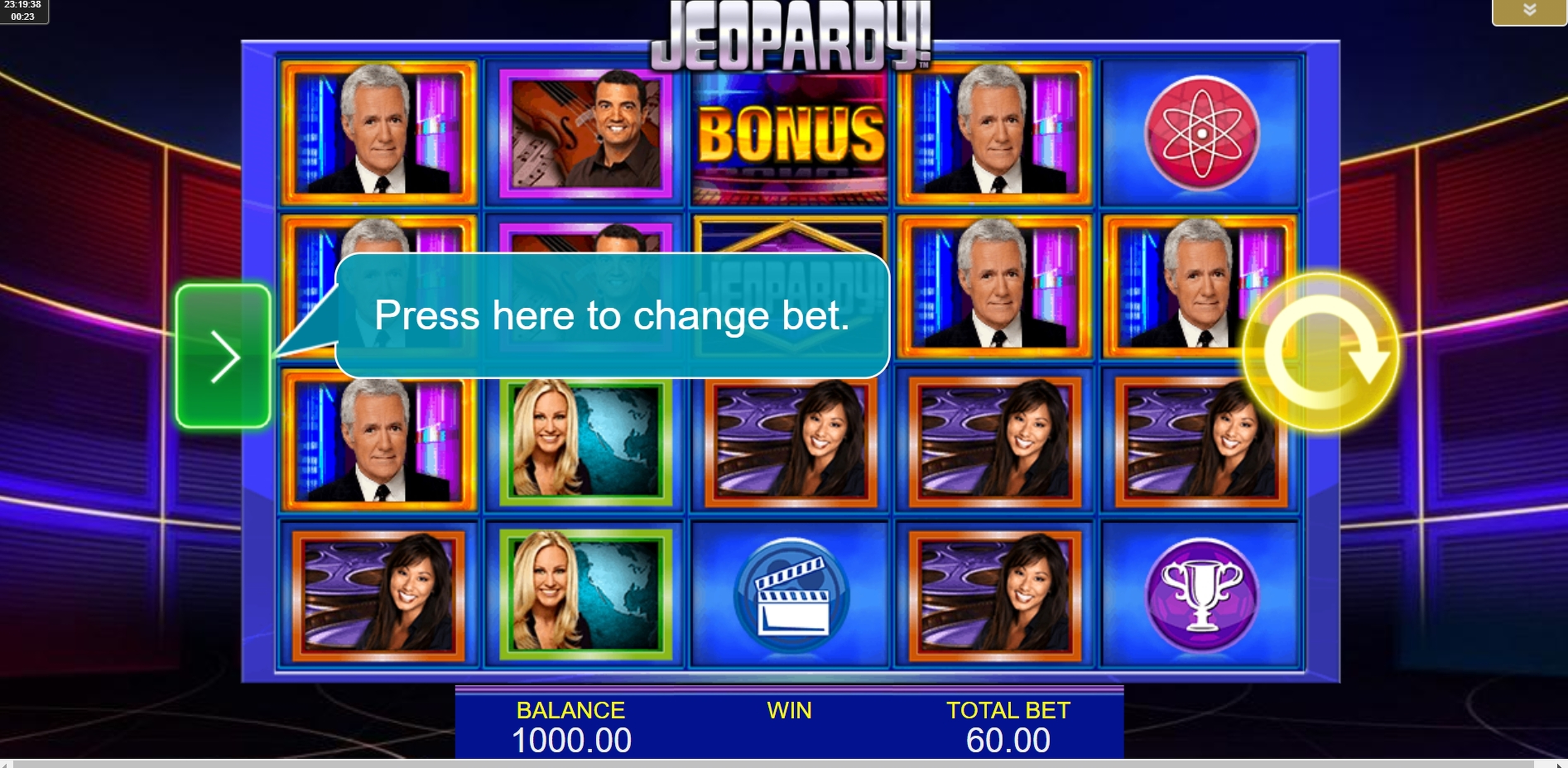Reels in Jeopardy! Slot Game by IGT