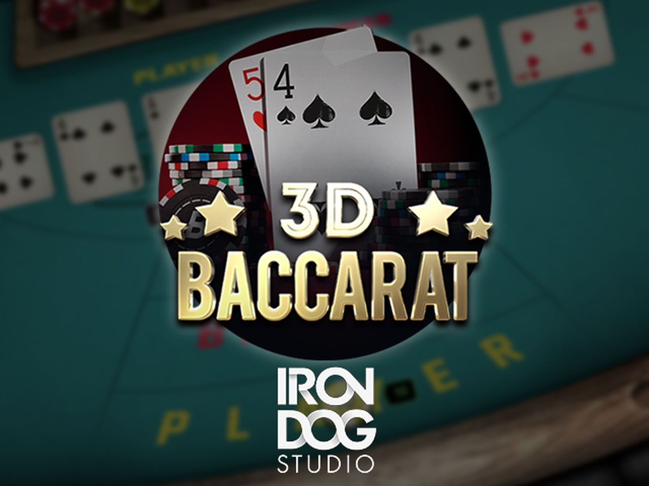 The 3D Baccarat Online Slot Demo Game by IronDog