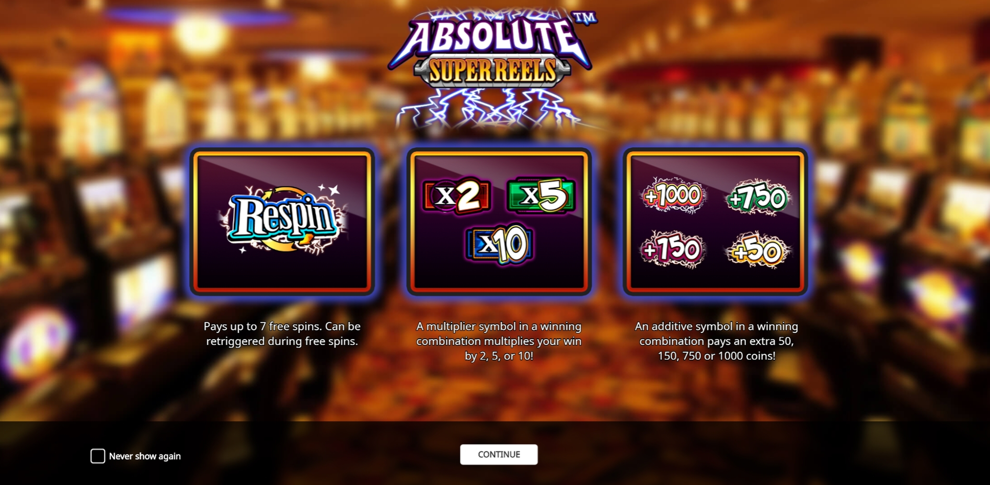 Play Super Multitimes Progressive Free Casino Slot Game by iSoftBet