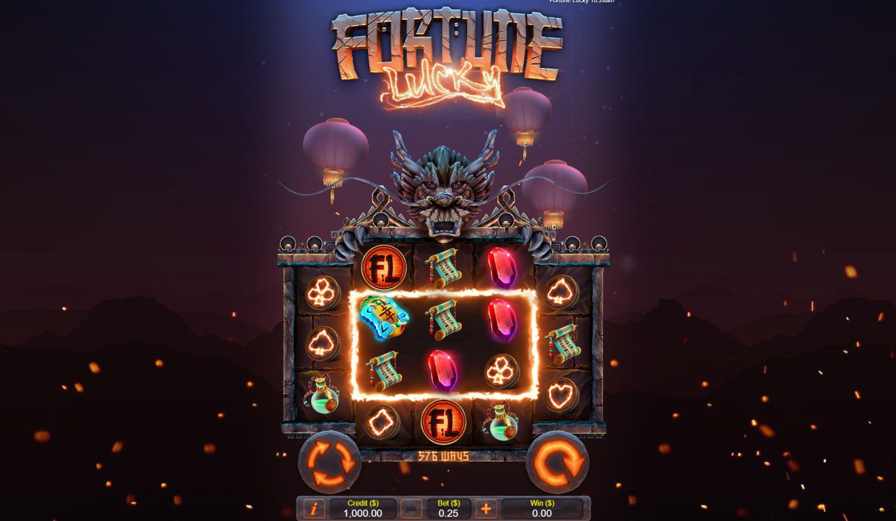 The Fortune Lucky Online Slot Demo Game by Live 5 Gaming