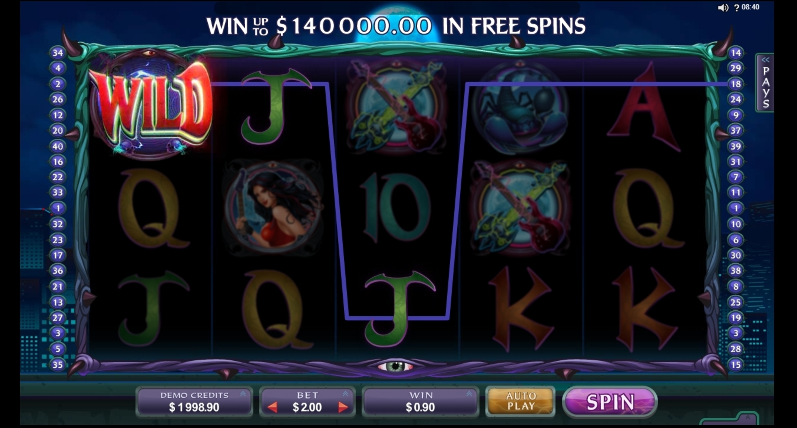 Win Money in Electric Diva Free Slot Game by MahiGaming