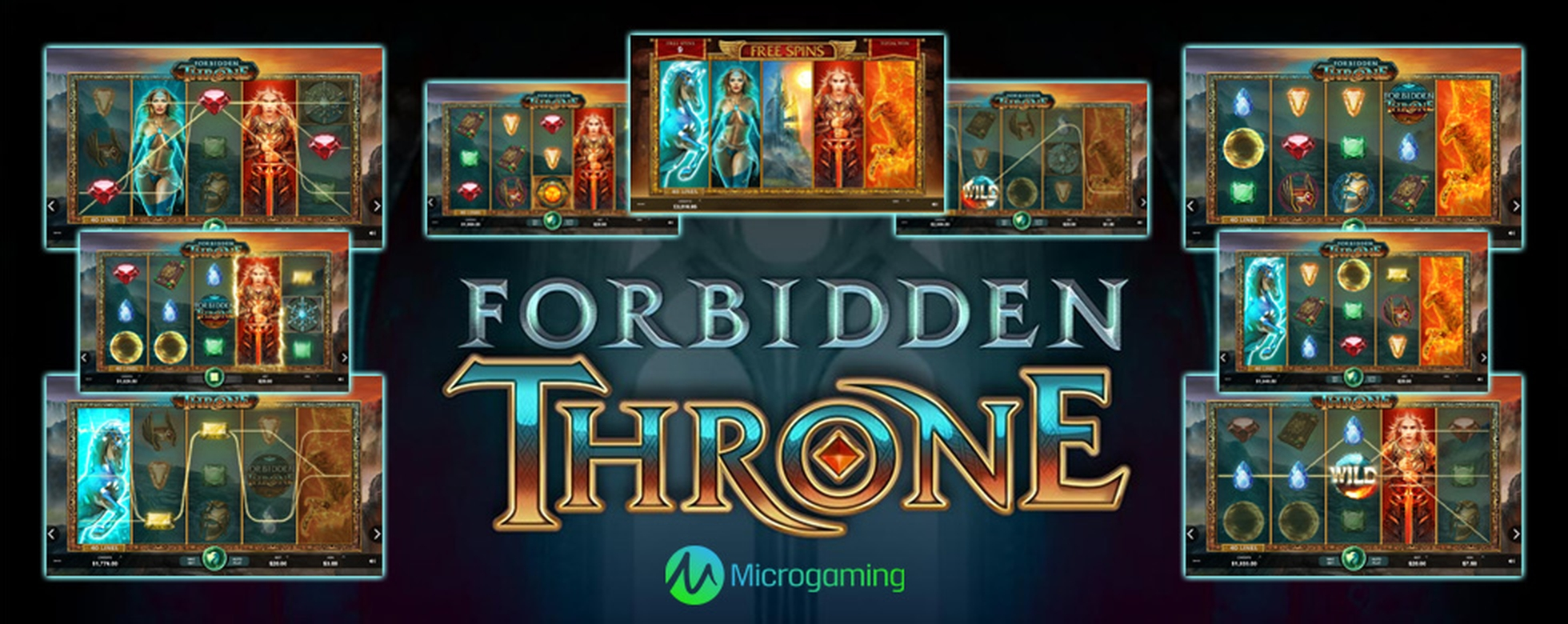 The Forbidden Throne Online Slot Demo Game by MahiGaming