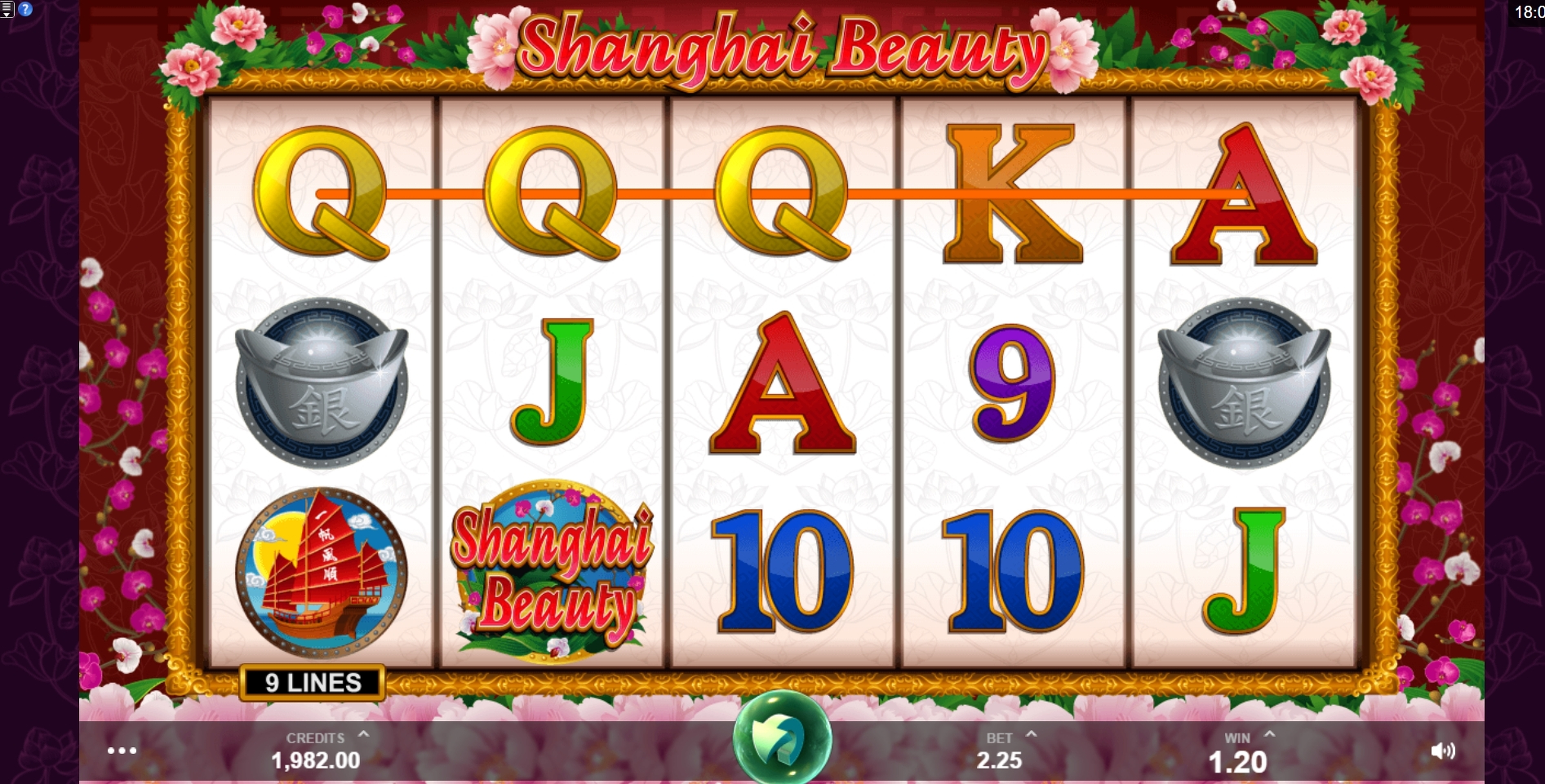 Win Money in Shanghai Beauty Free Slot Game by MahiGaming
