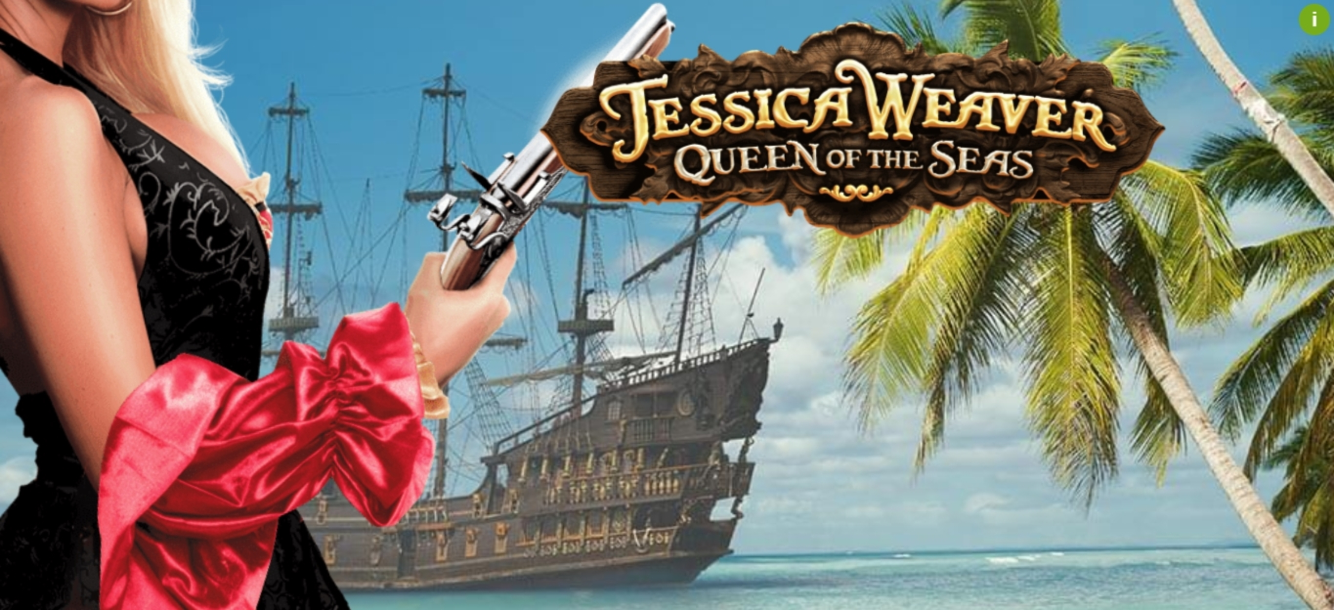 The Jessica Weaver Queen of the Seas Online Slot Demo Game by MGA