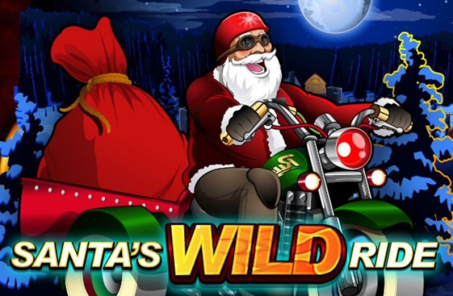 The Santa's Wild Ride Online Slot Demo Game by Microgaming
