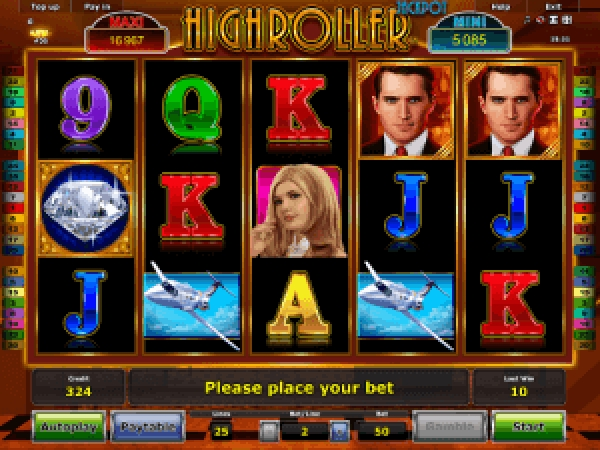 The High Roller (Novomatic) Online Slot Demo Game by Novomatic