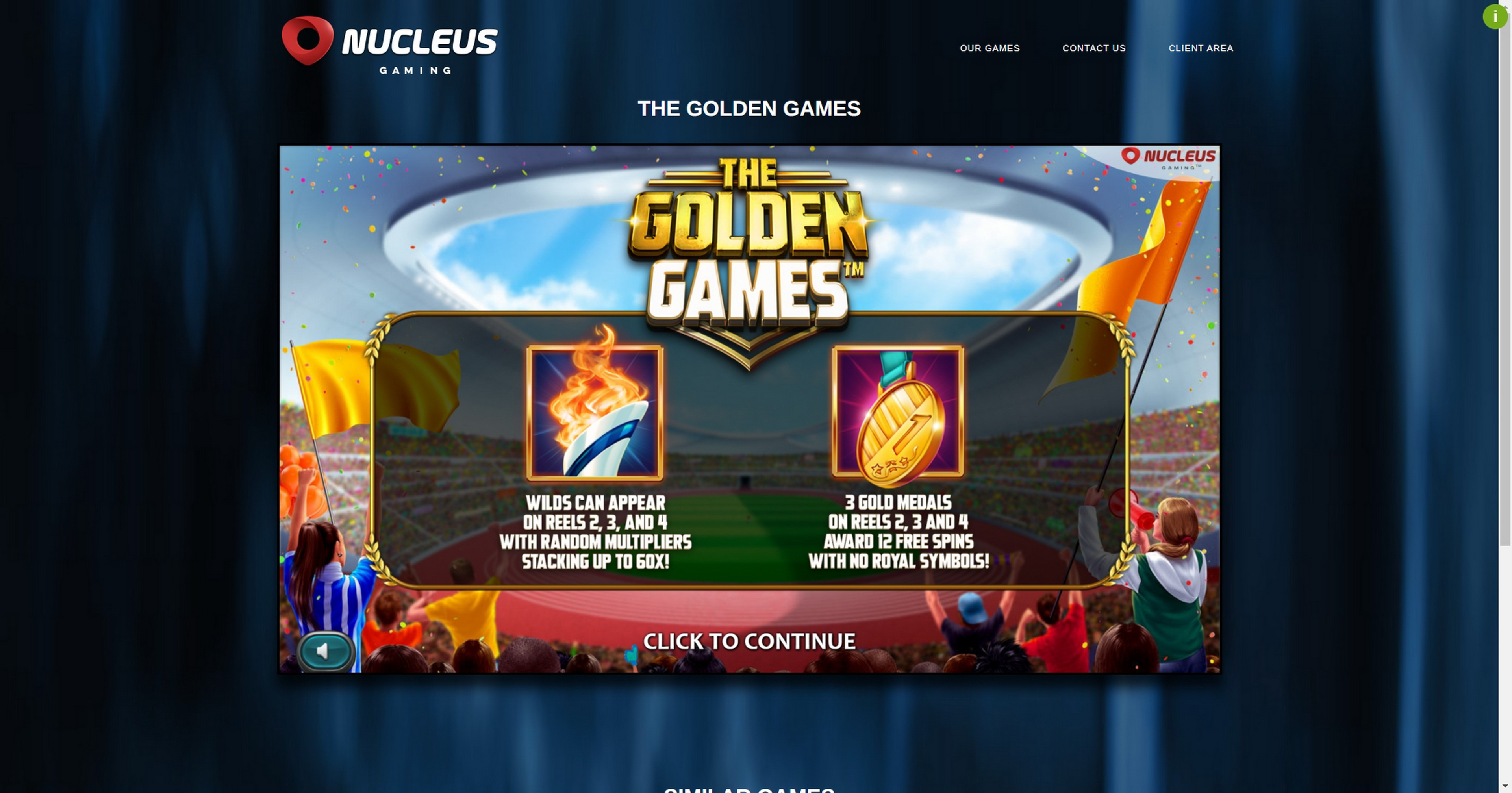 Play The Golden Games Free Casino Slot Game by Nucleus Gaming