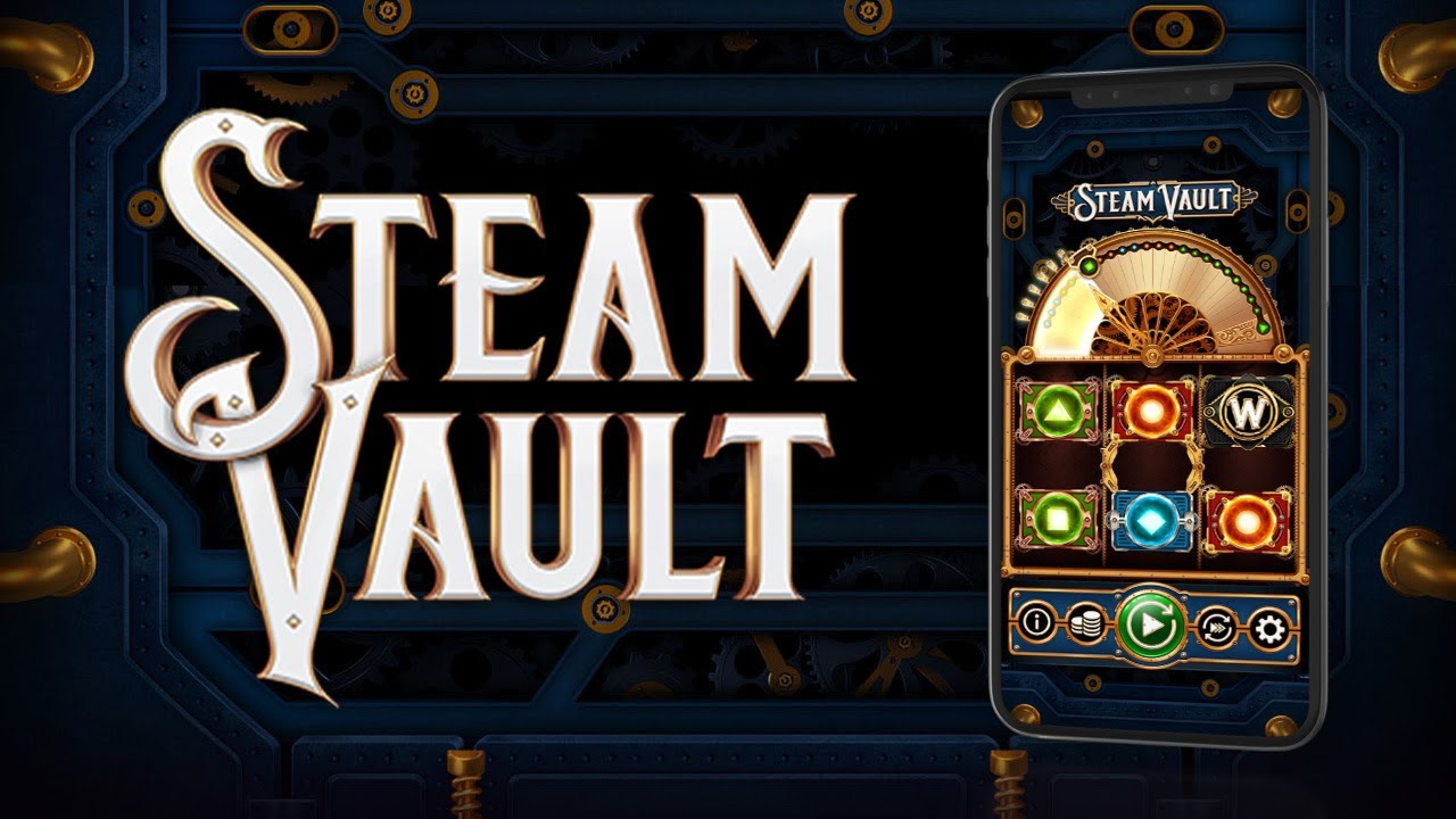 The Steam Vault Online Slot Demo Game by OneTouch Games