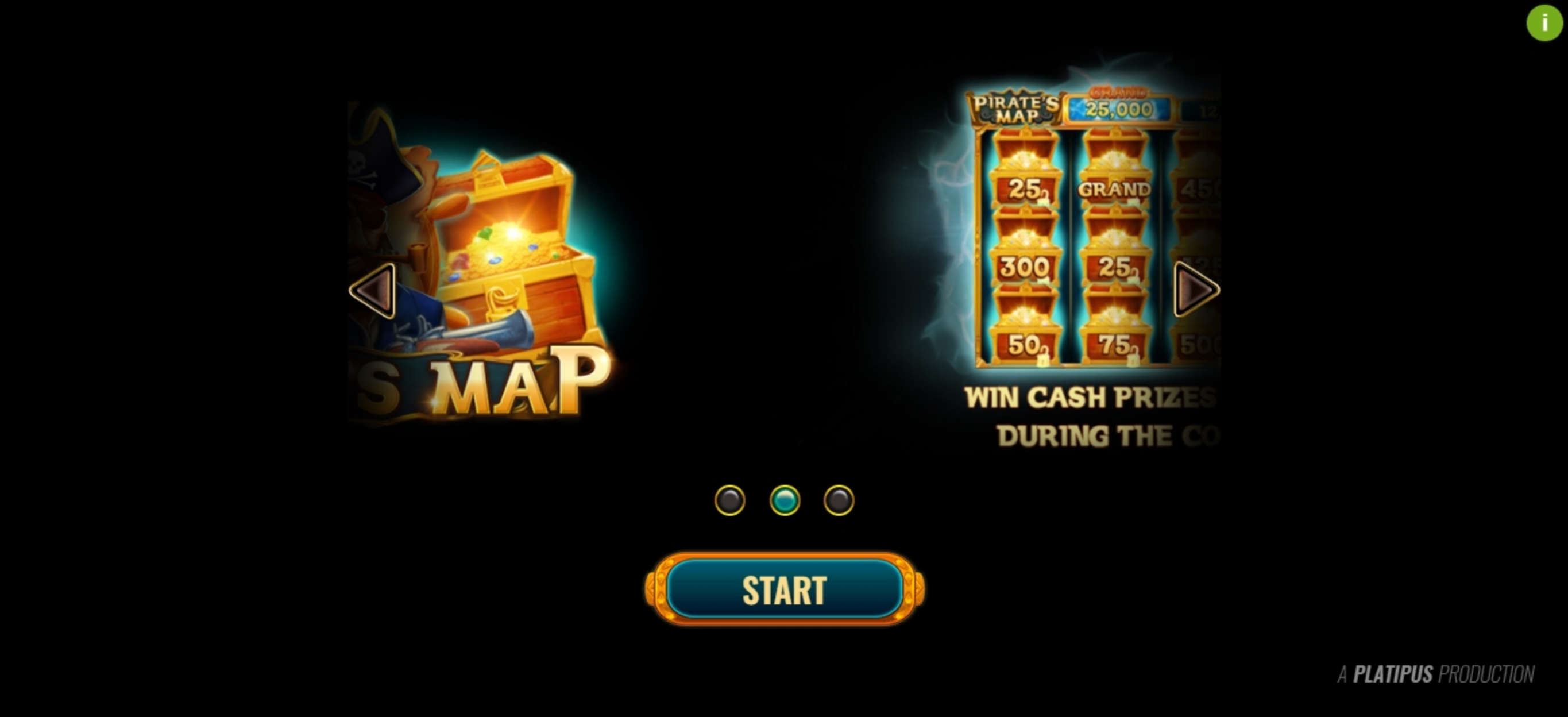 Play Pirate's Map Free Casino Slot Game by Platipus
