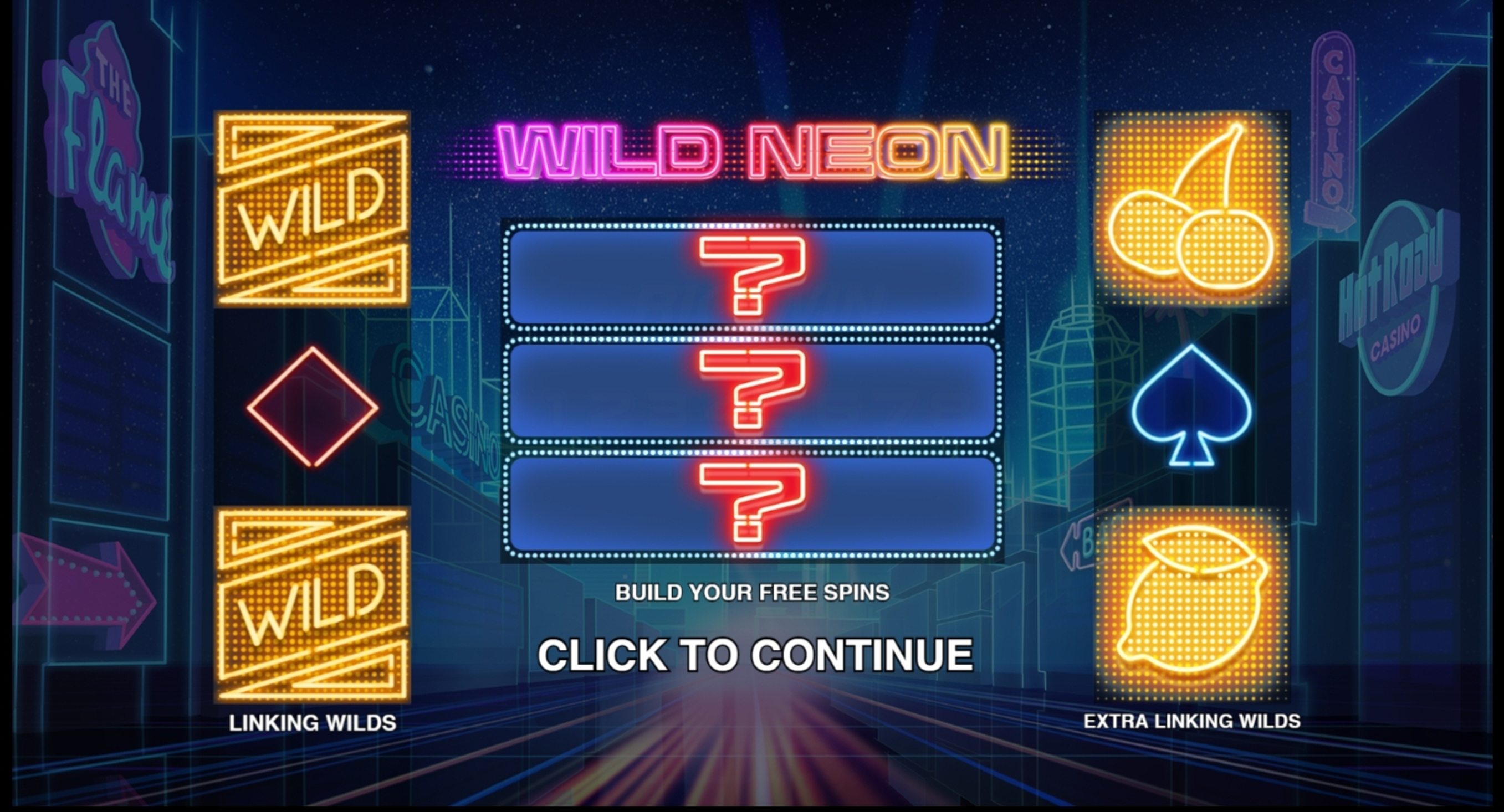 Play Wild Neon Free Casino Slot Game by Push Gaming