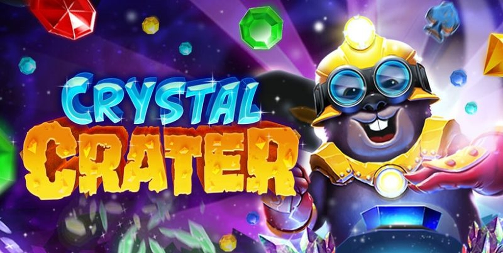 The Crystal Crater Online Slot Demo Game by Radi8