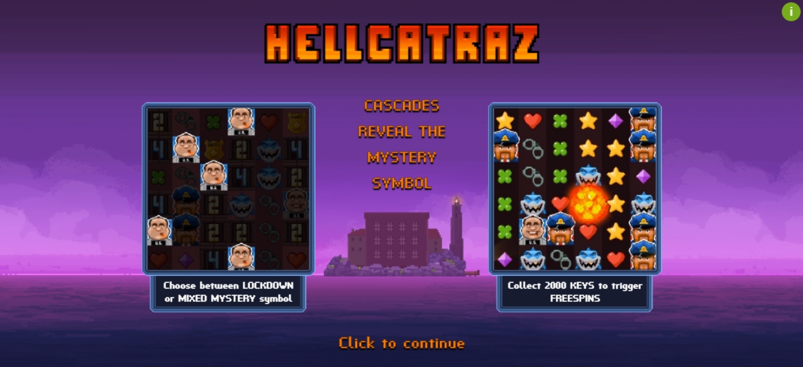 Play Hellcatraz Free Casino Slot Game by Relax Gaming