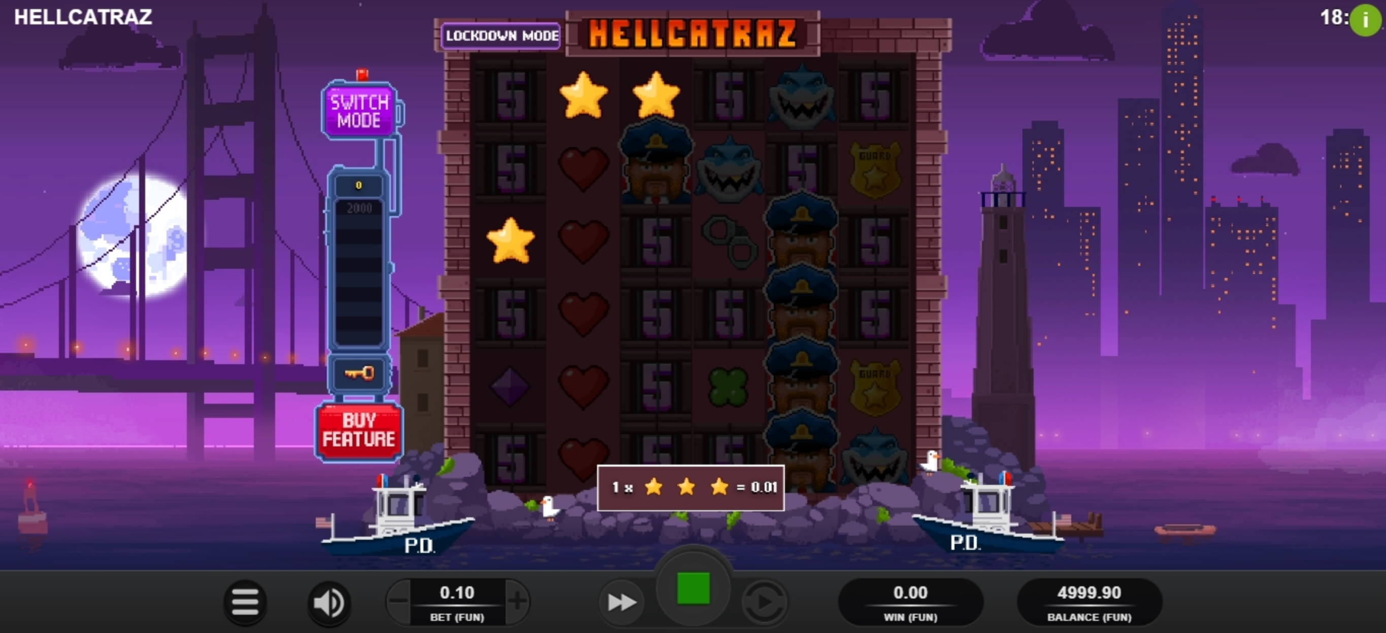 Win Money in Hellcatraz Free Slot Game by Relax Gaming