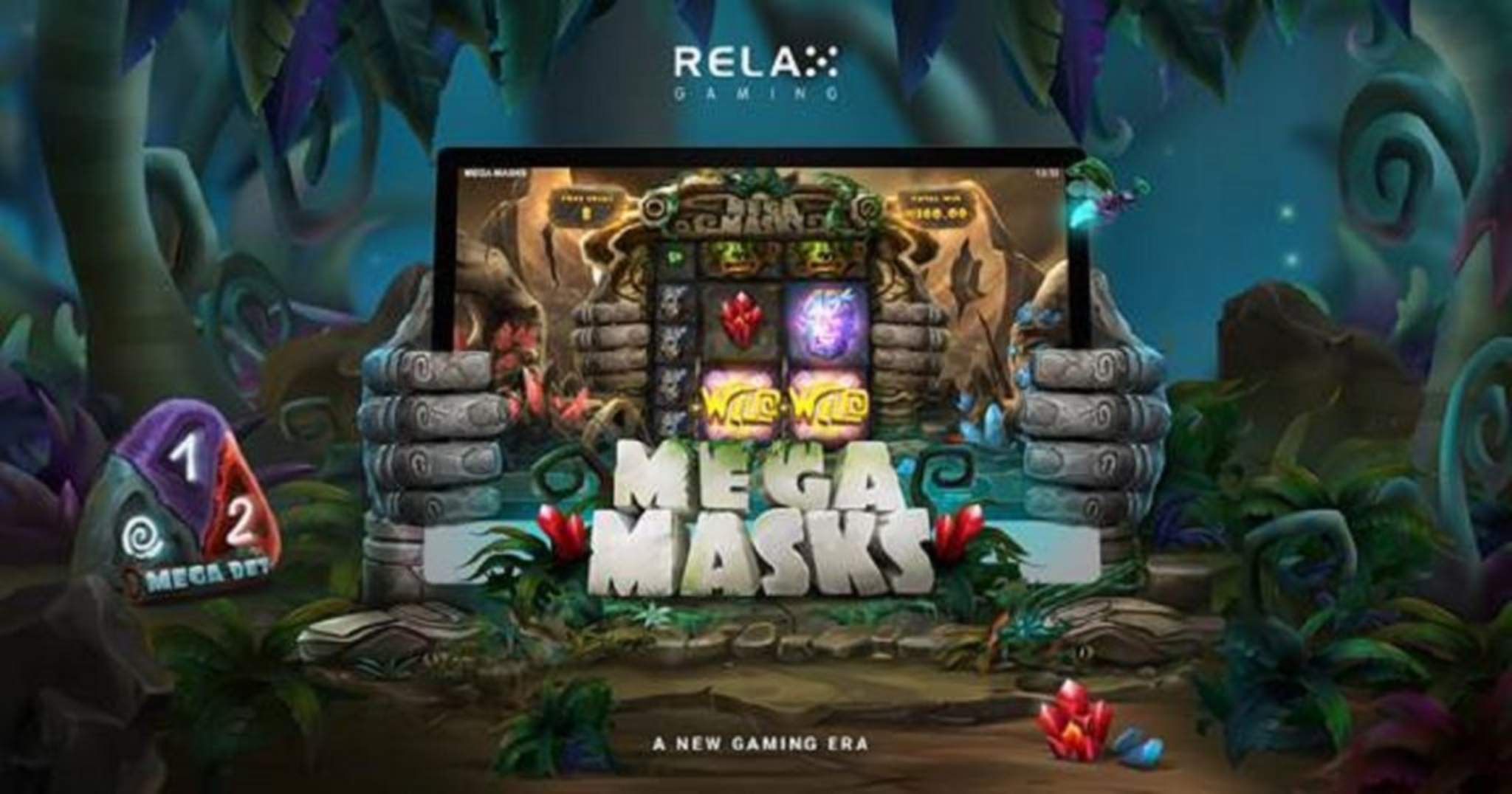 The Mega Masks Online Slot Demo Game by Relax Gaming