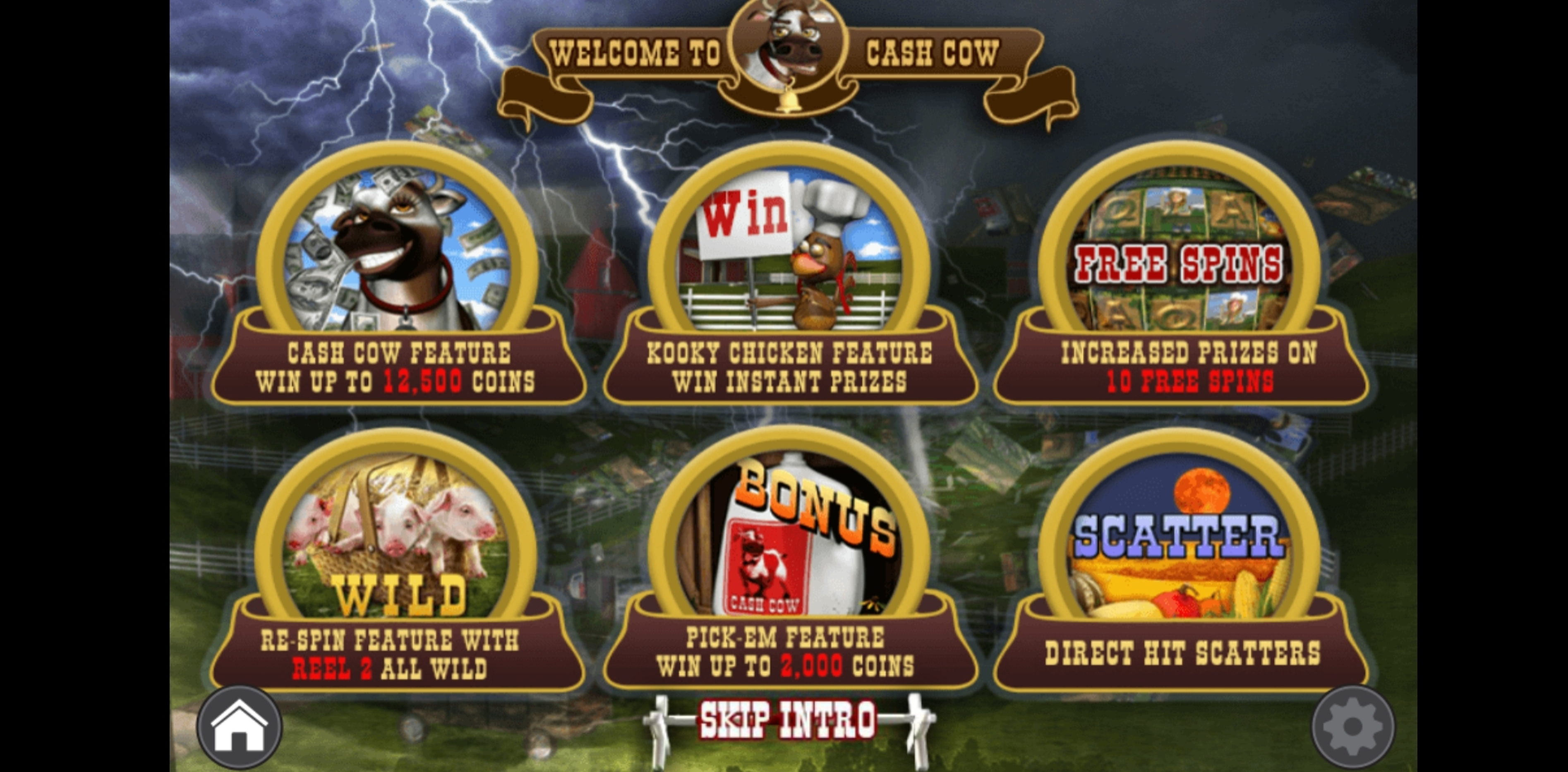 Play Cash Cow Free Casino Slot Game by Revolver Gaming